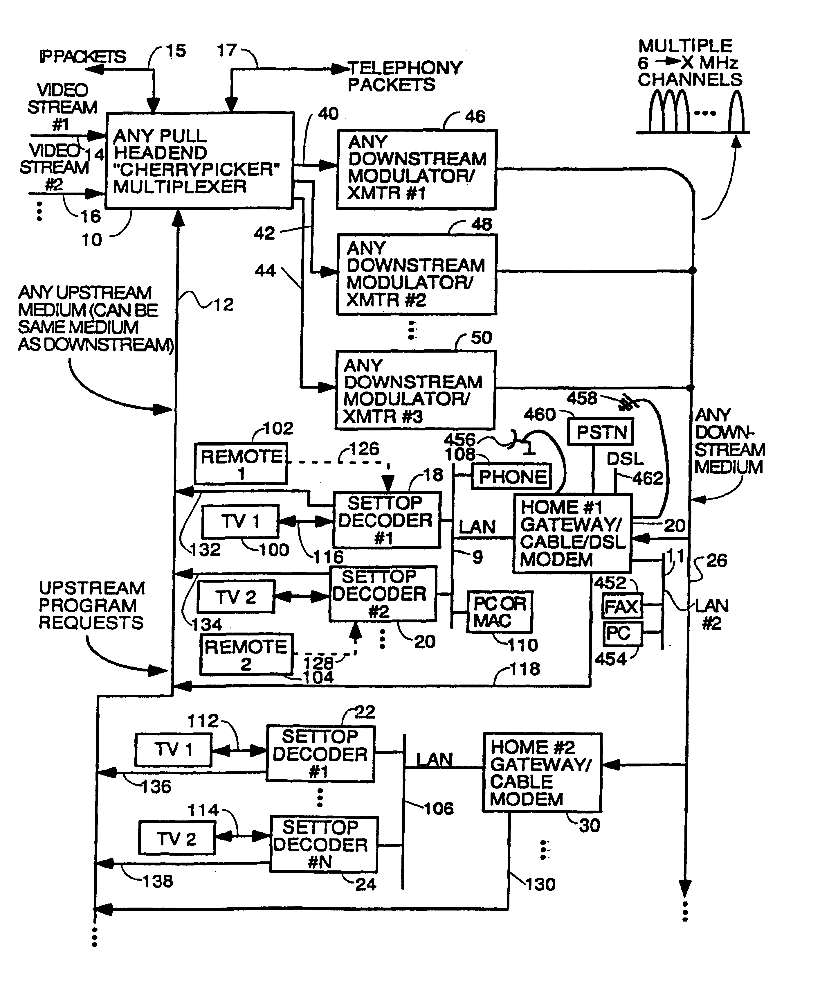 Patent Us7089577 Process For Supplying Video On Demand And Other Club Car Carryall 272 Wiring Diagram Drawing