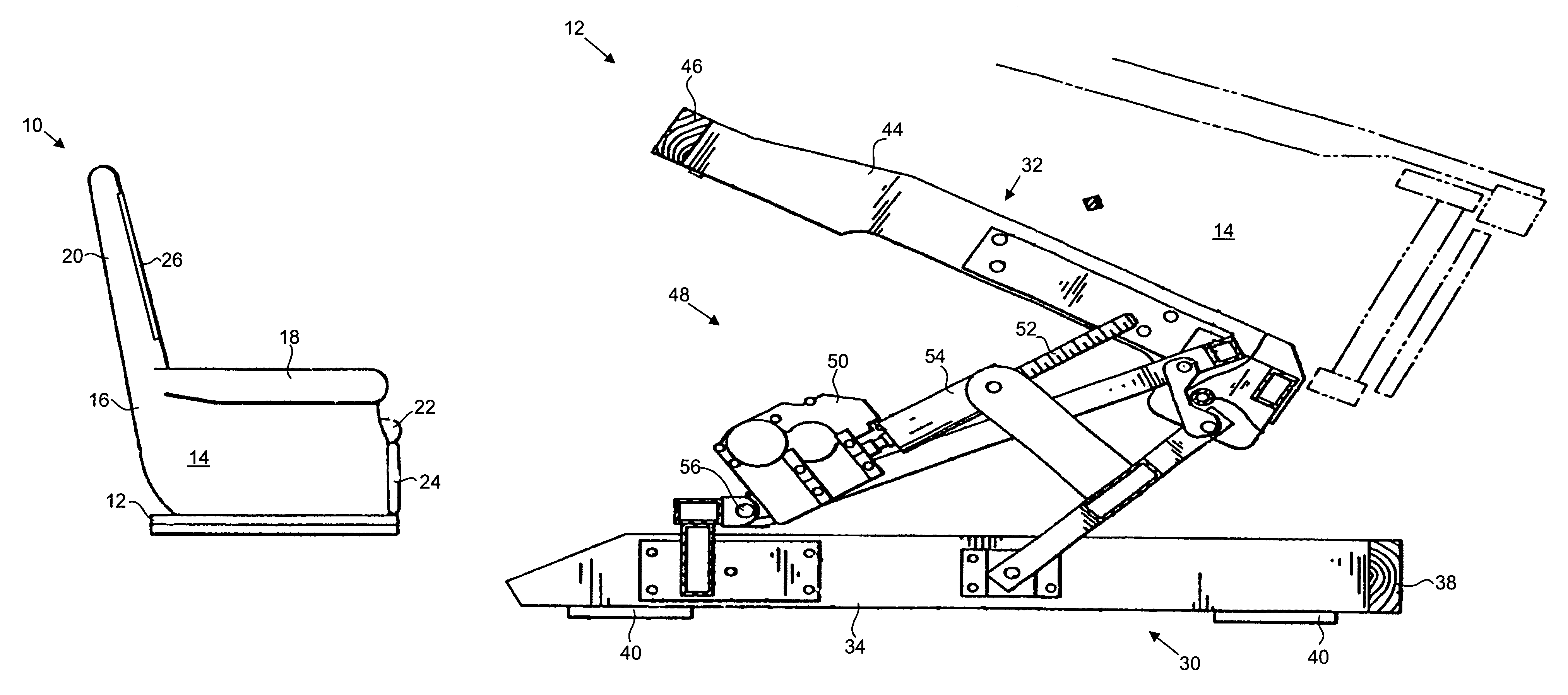 Patent Us7090297 Heavy Lift Chair Google Patents