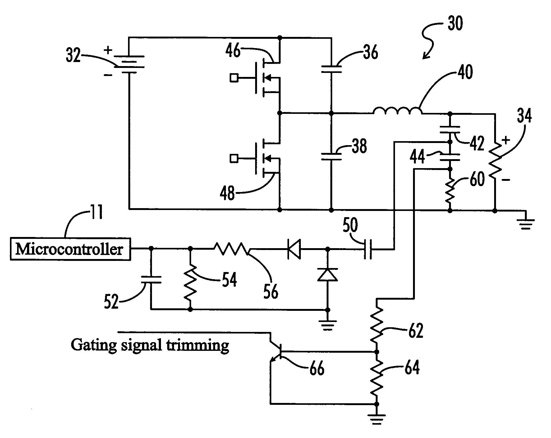Patent Us7098607 Electronic Ballast With Lossless Snubber 4 Light Wiring Diagram Parallel Drawing