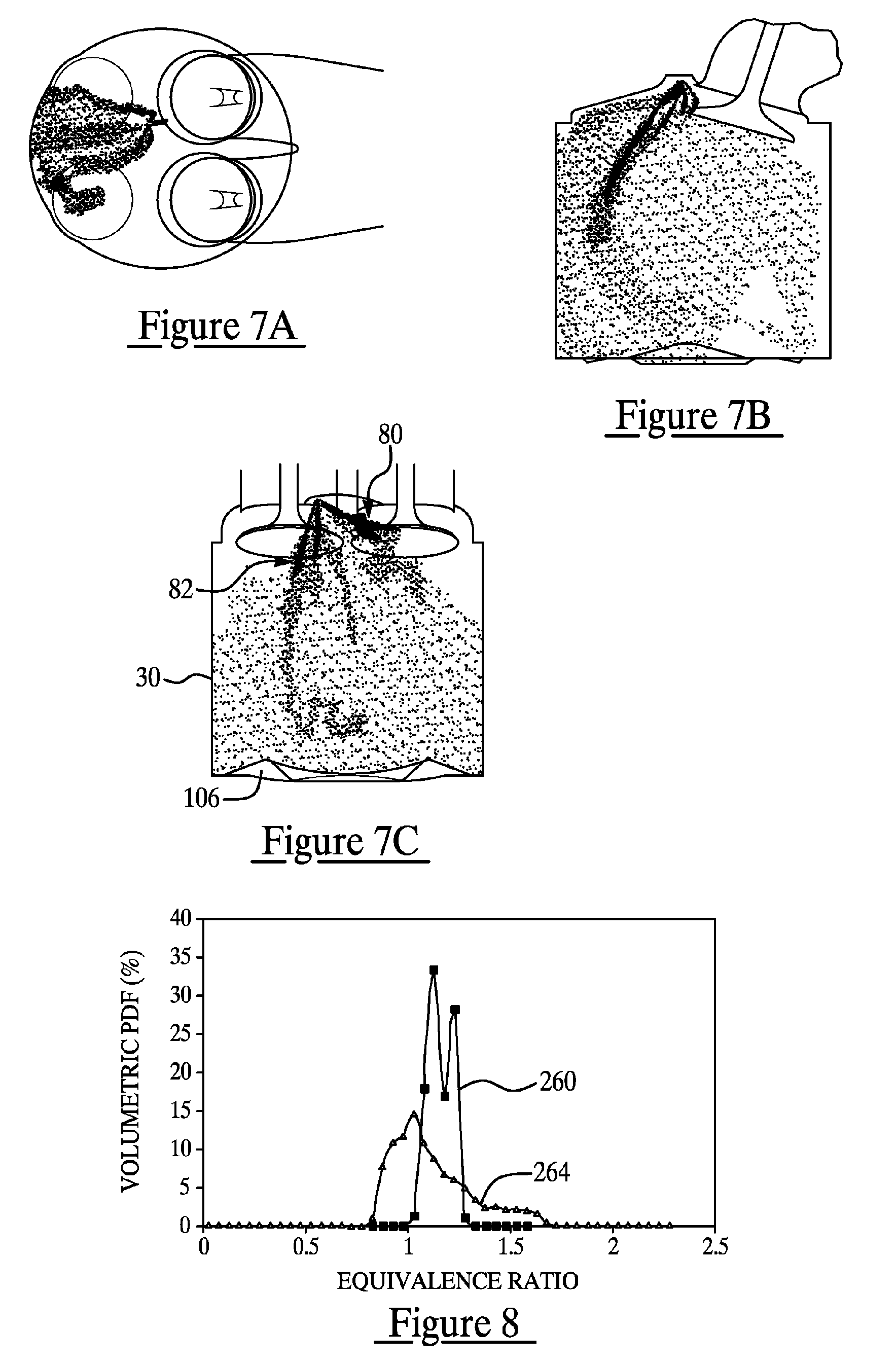 patent us7104250 - injection spray pattern for direct injection spark ignition engines