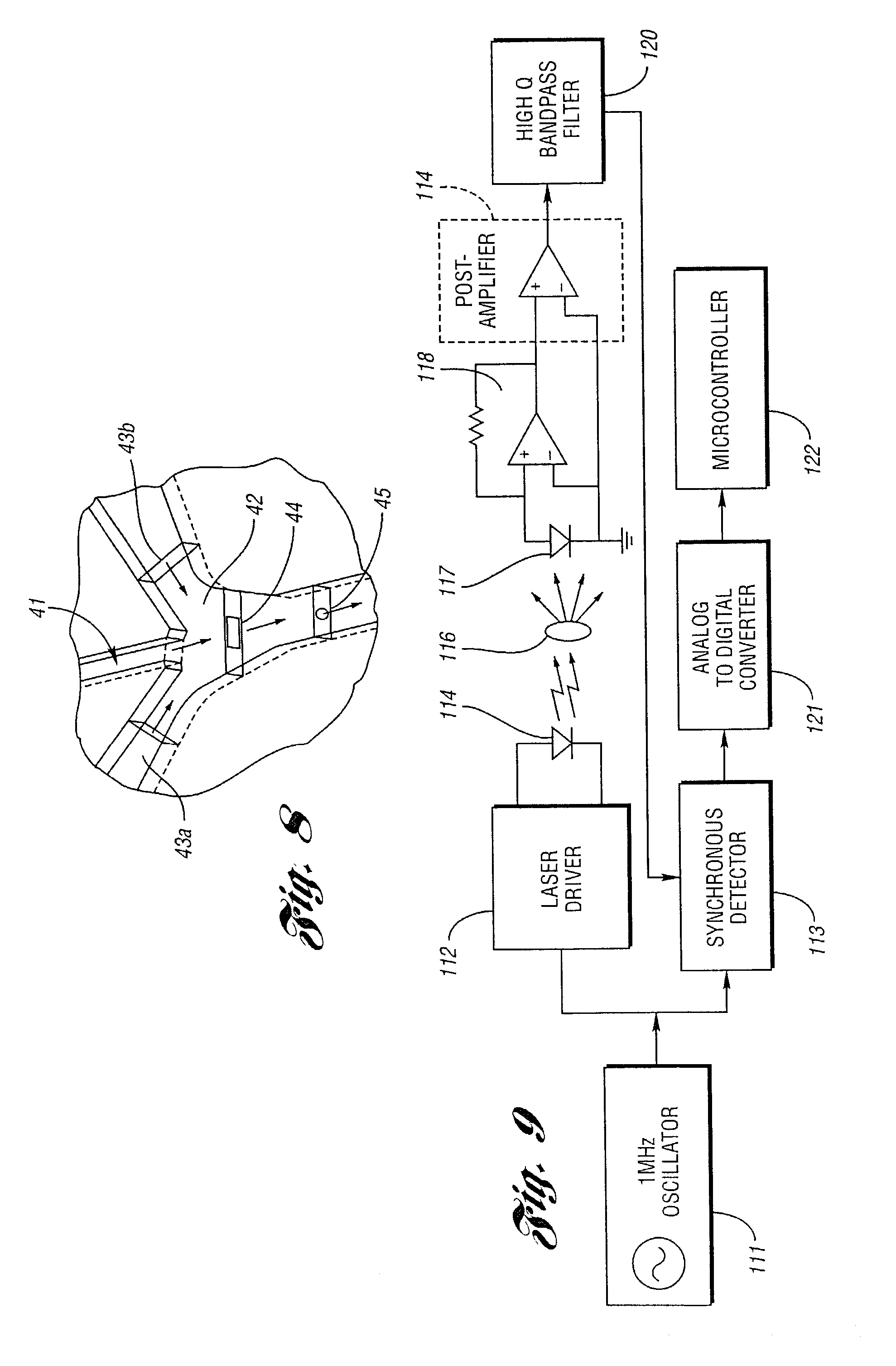 brevet us7105355 - flow cytometers and detection system of lesser size