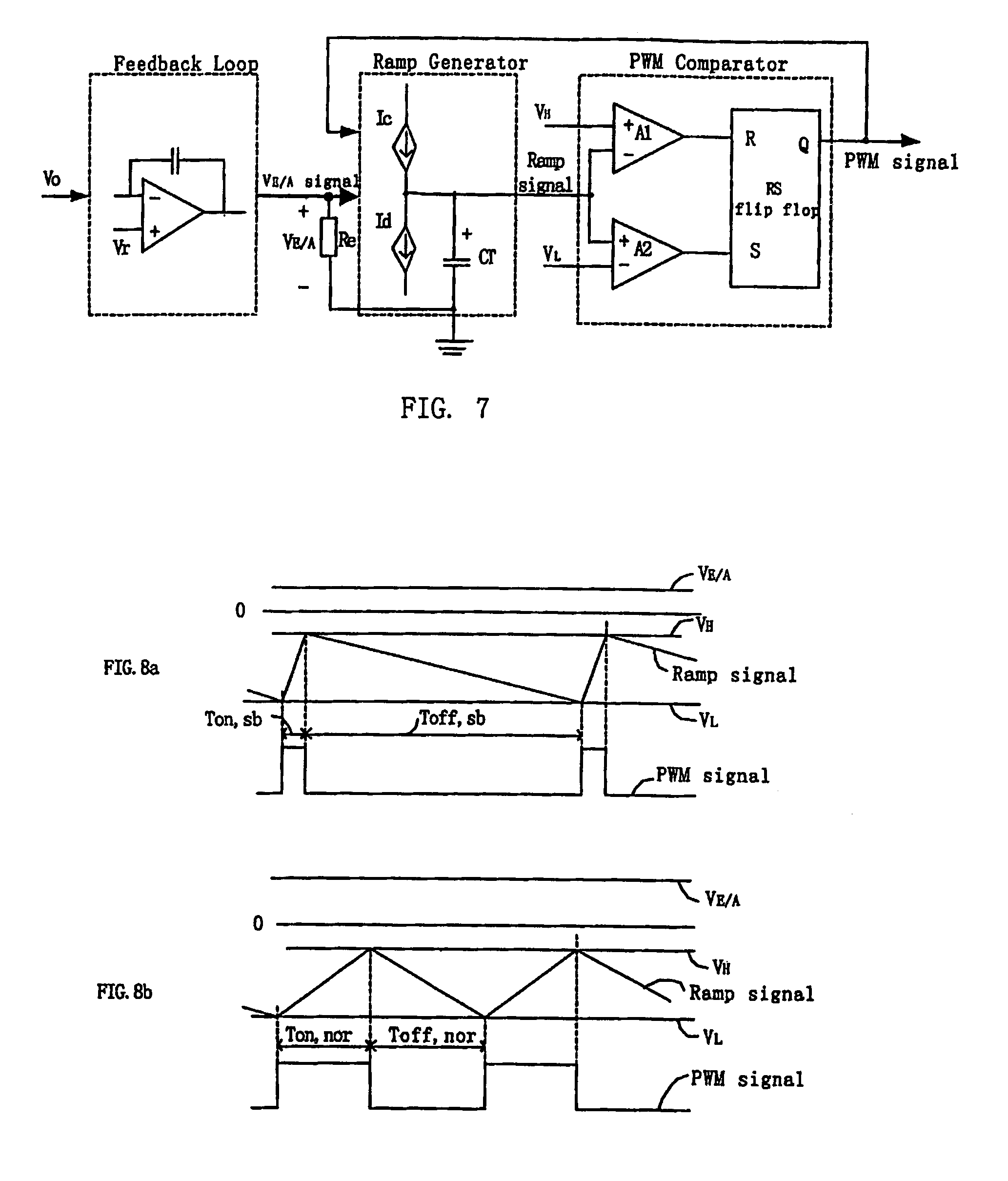 Variable Duty Cycle Pwm Circuit Motor Speed Controller Using Ic556 Homemade And Schematics Diagram Patent Us7106130 Frequency