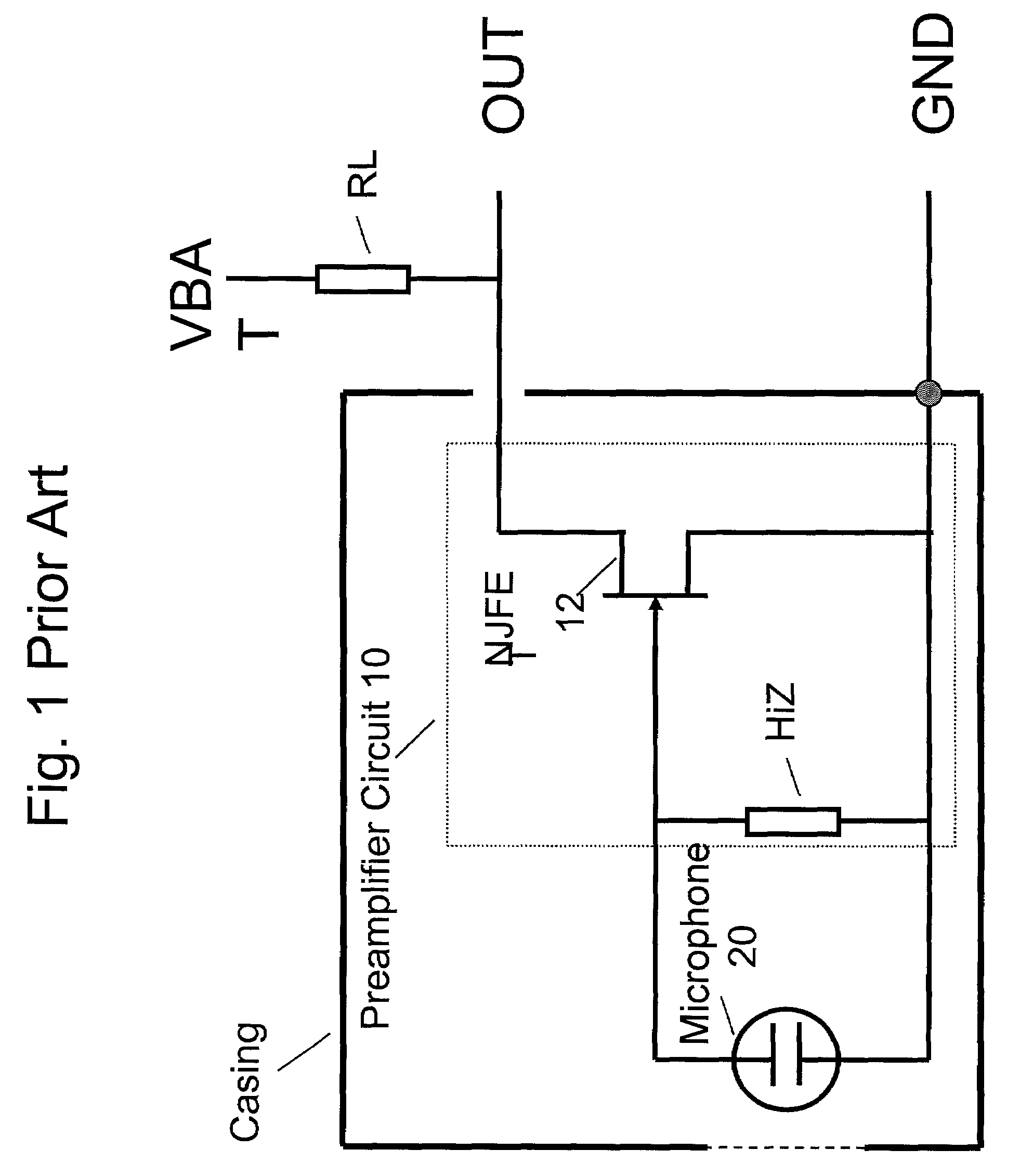 Patent US7110560 - Electret condensor microphone preamplifier that