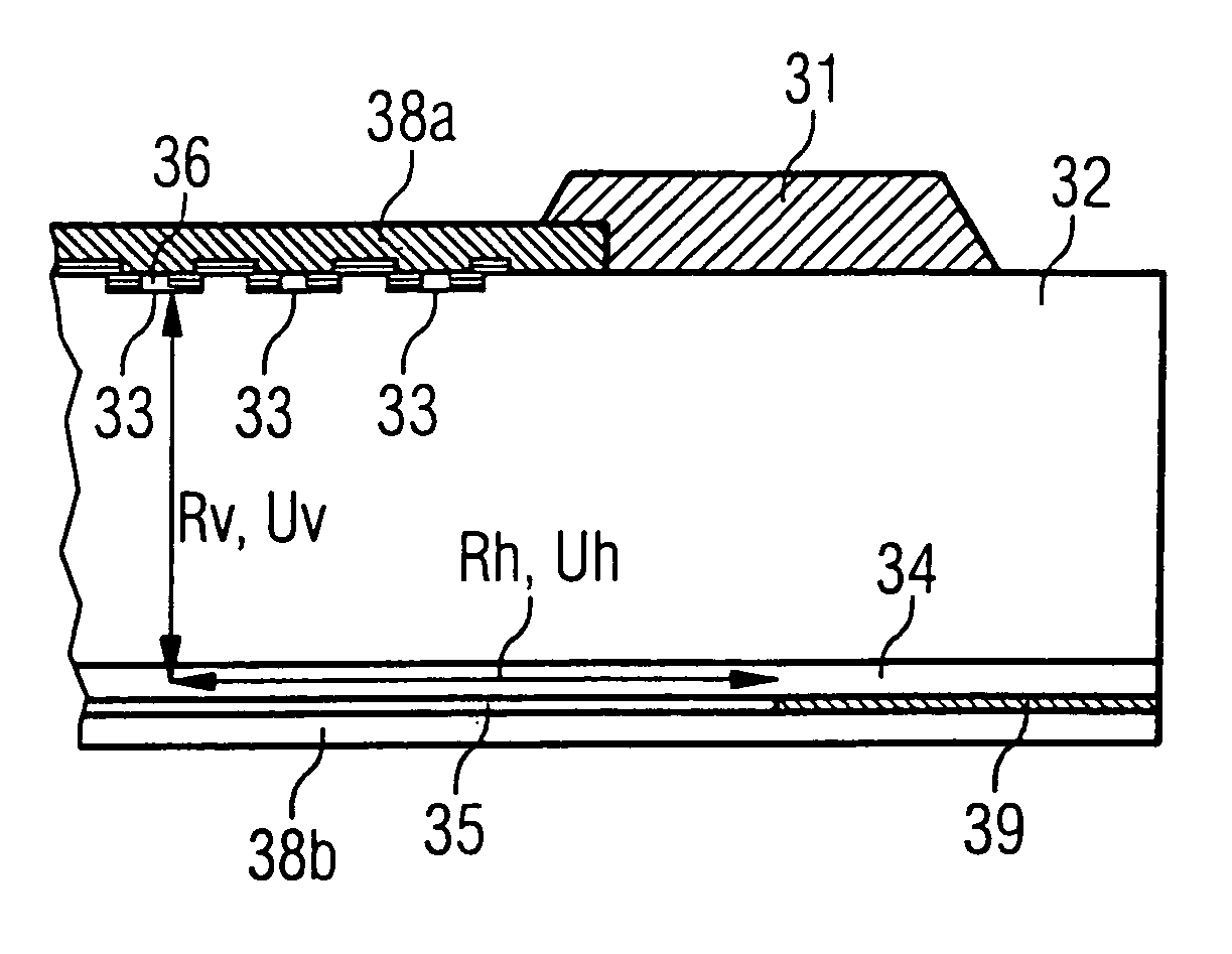 Patent Us7112868 Igbt With Monolithic Integrated Antiparallel Diodes Drawing