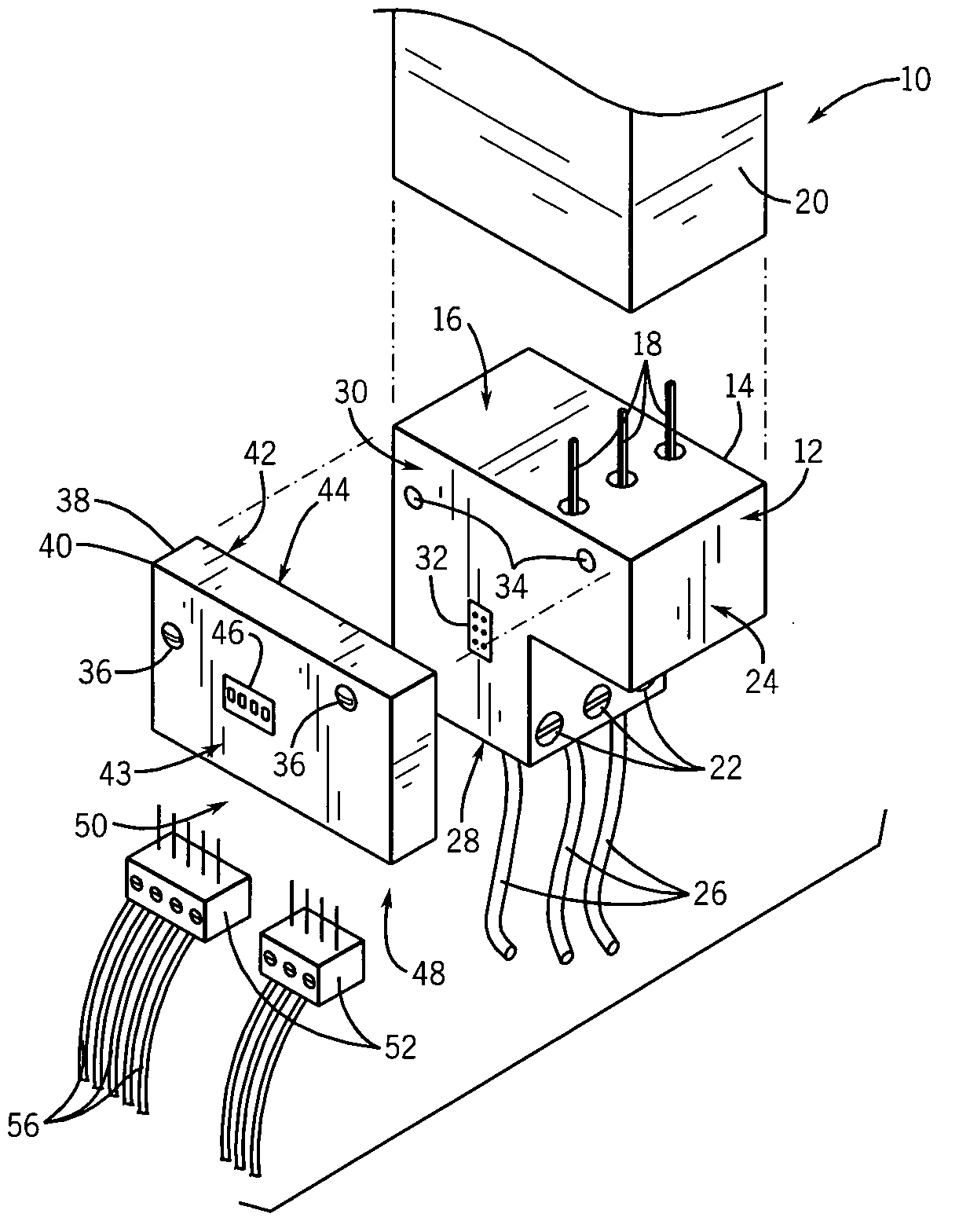 patent us7116538 - modular overload relay system