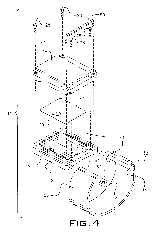 Patent US7119695 - Advanced house arrest tracker system