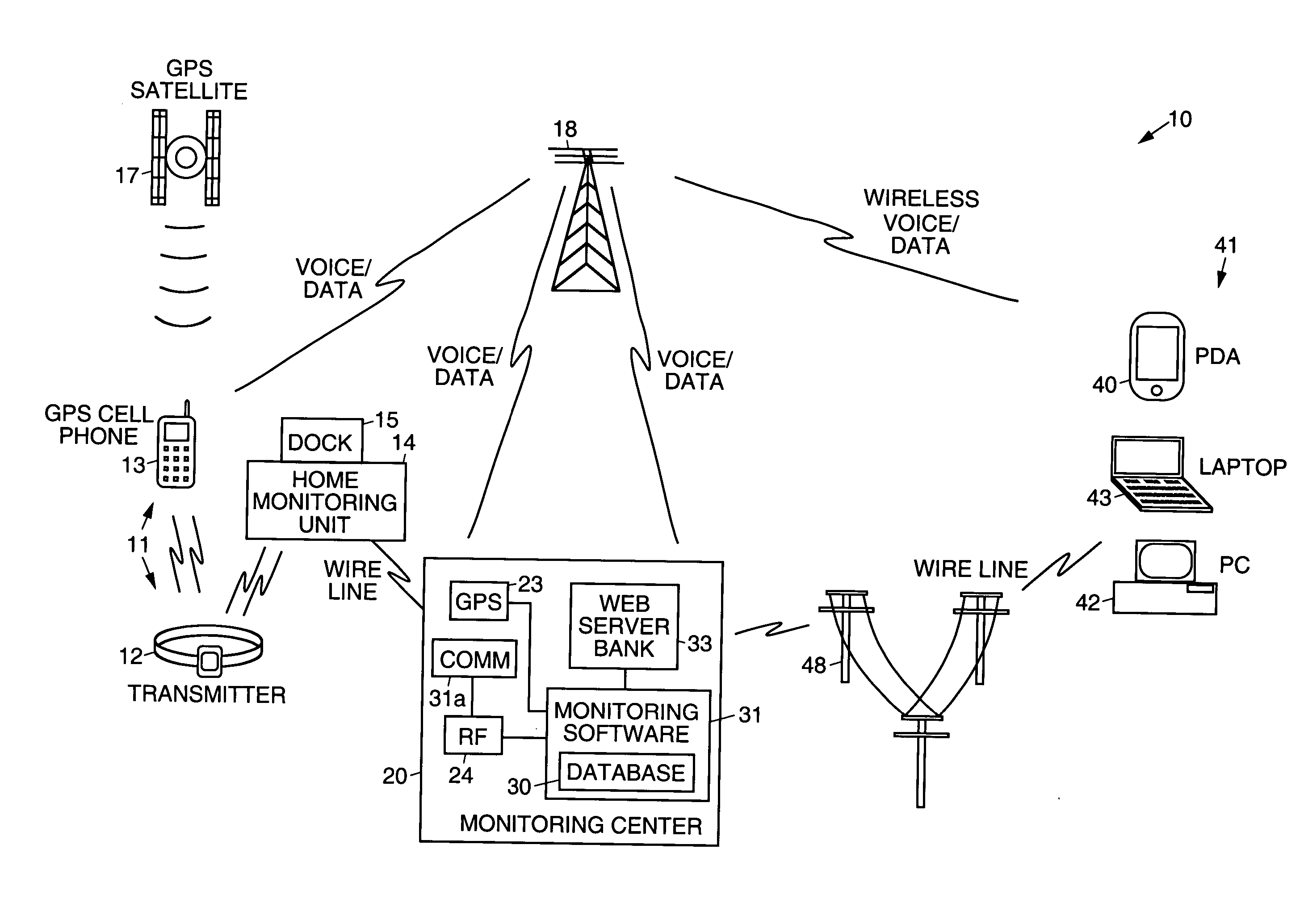 Patent Us7123141 Electronic Monitoring Systems And