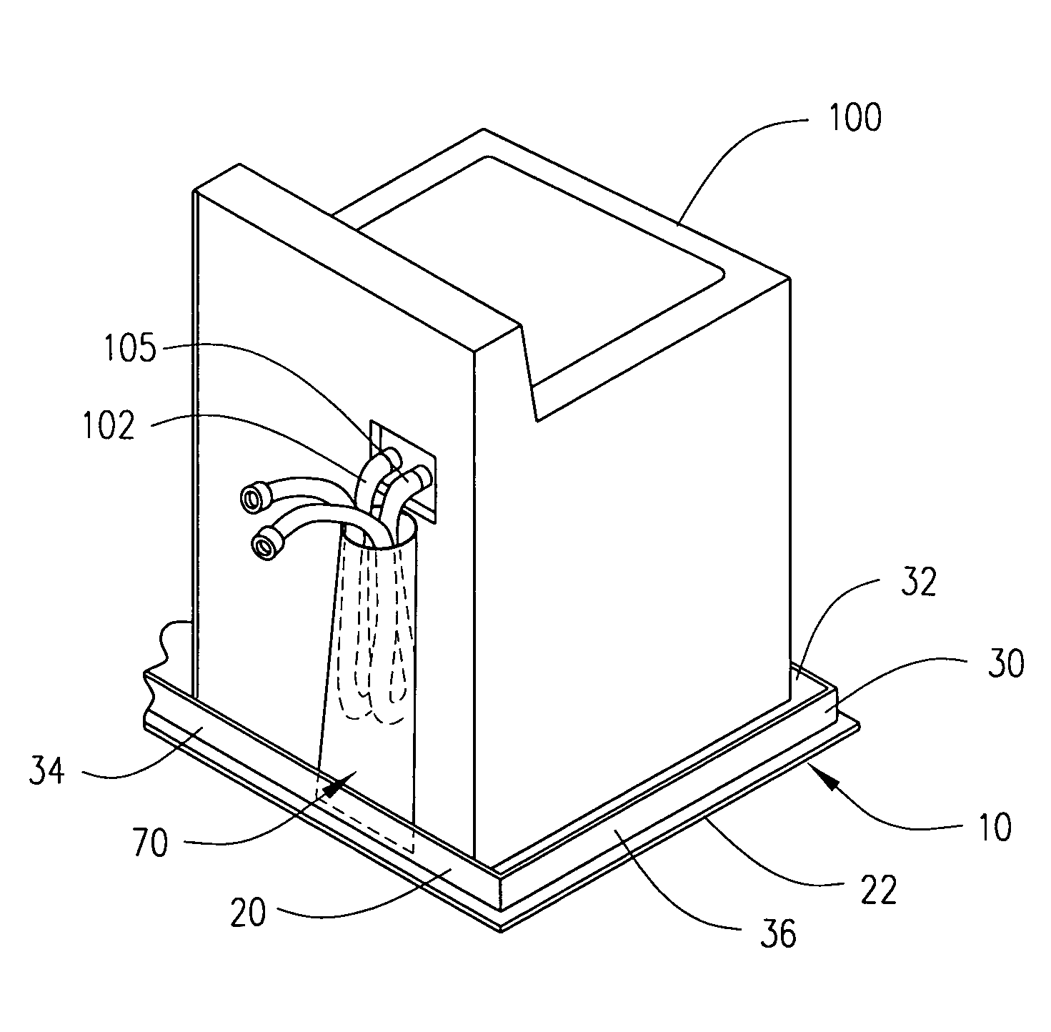 Patent Us7124772 Laundry Room And Appliance Mat Google
