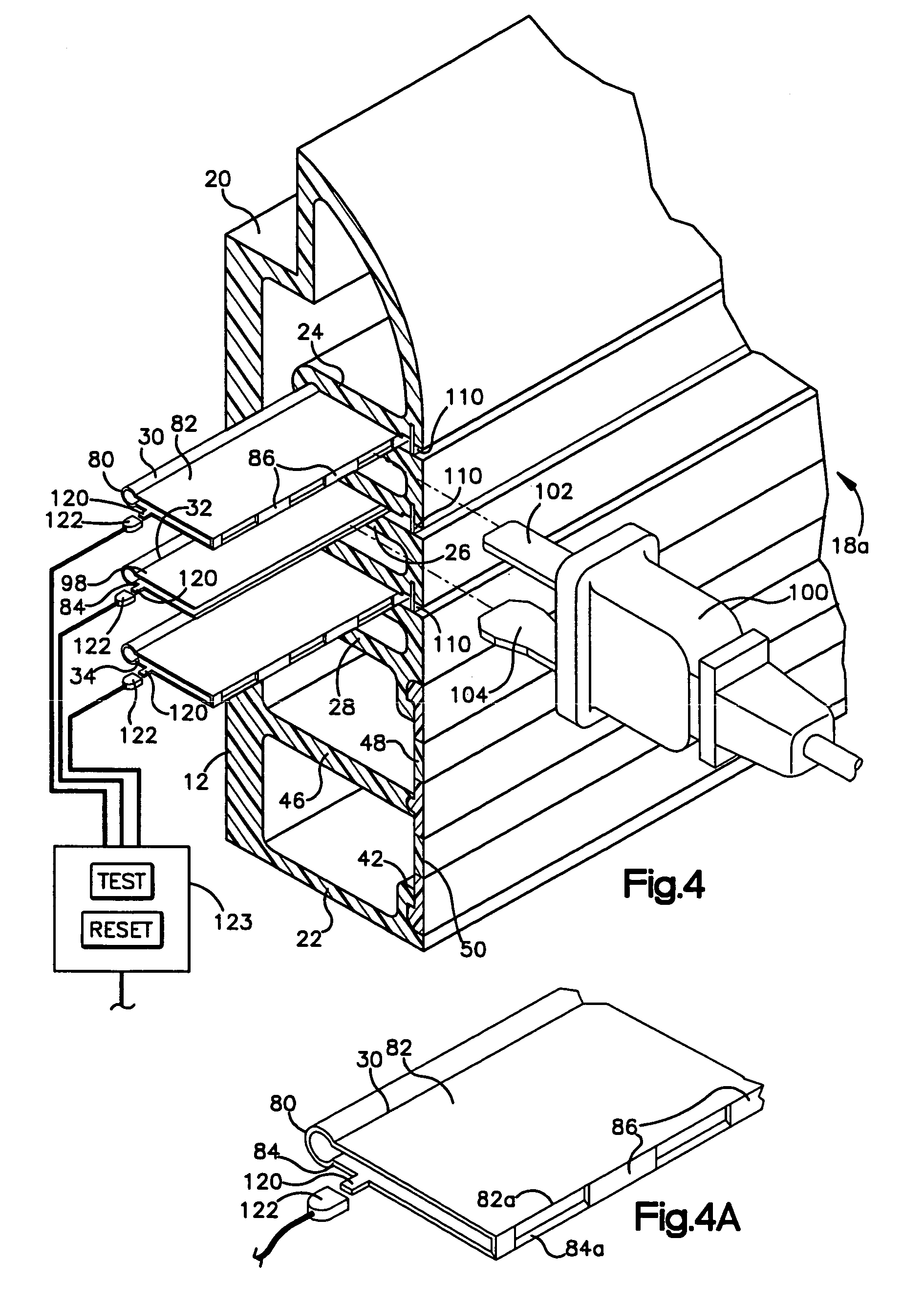 patent us7128585 elongated electrical outlet patents Common Neutral Wiring patent drawing