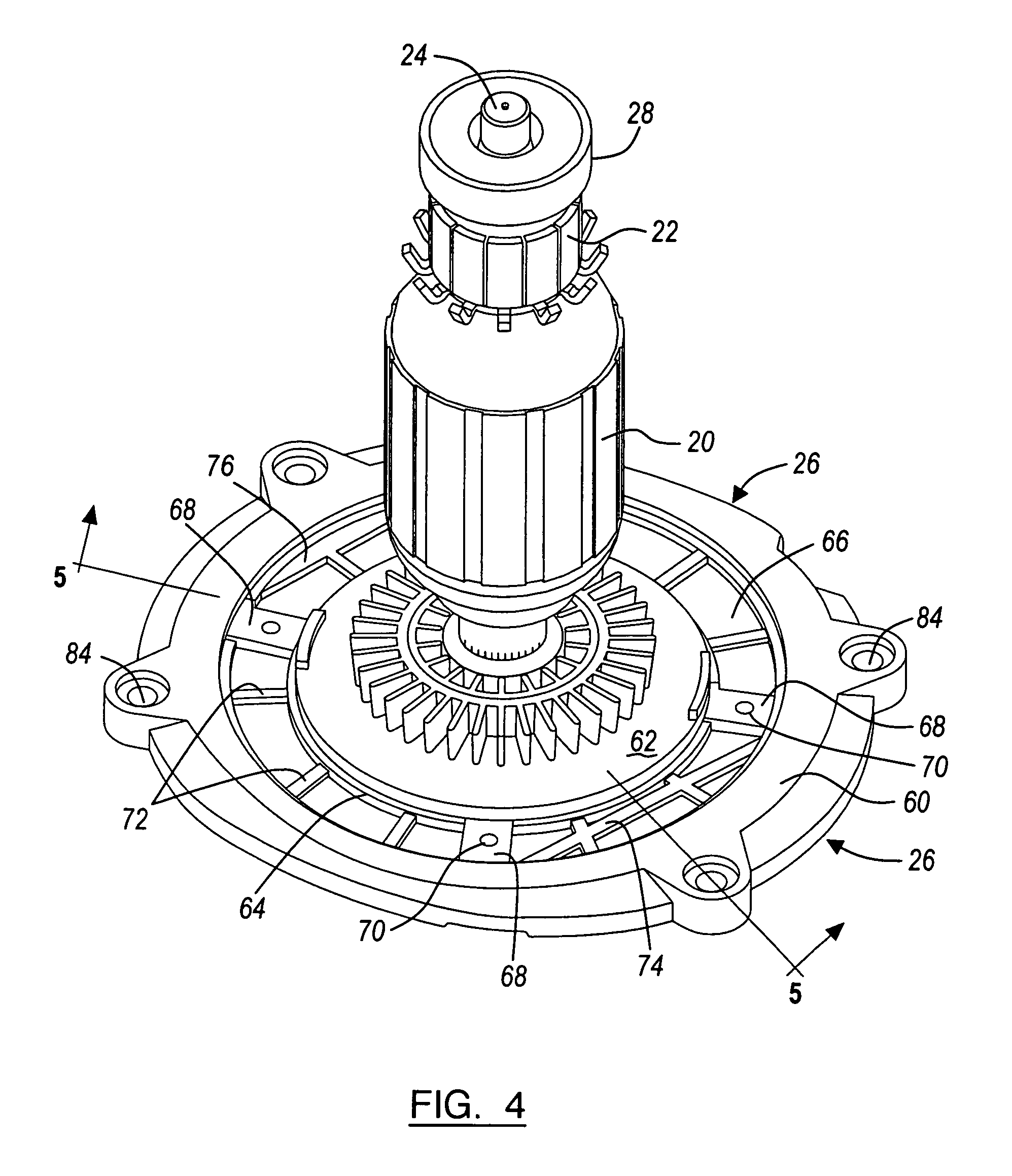 Patent Us7135796 Electric Motor Brush Assembly Google