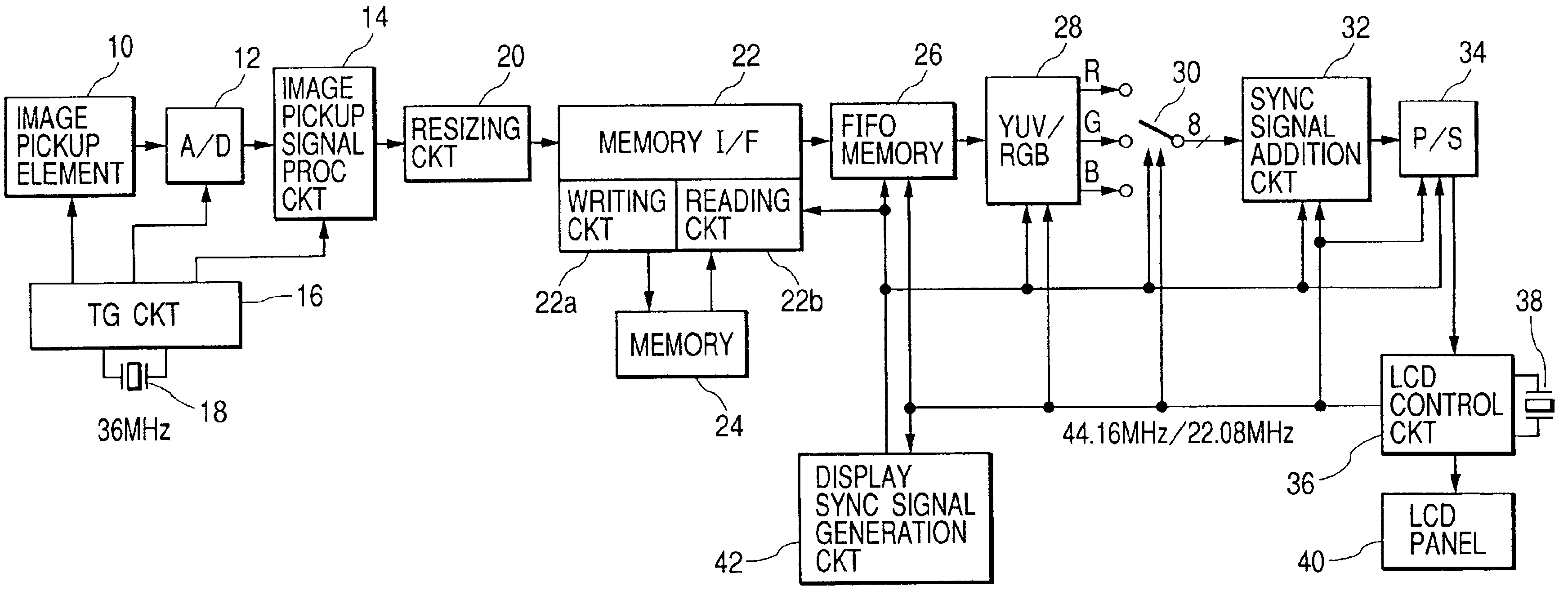 Patent Us7136110 Image Signal Processing Apparatus Google Patents The Quartz Crystal Oscillator Circuit Signalprocessing Drawing