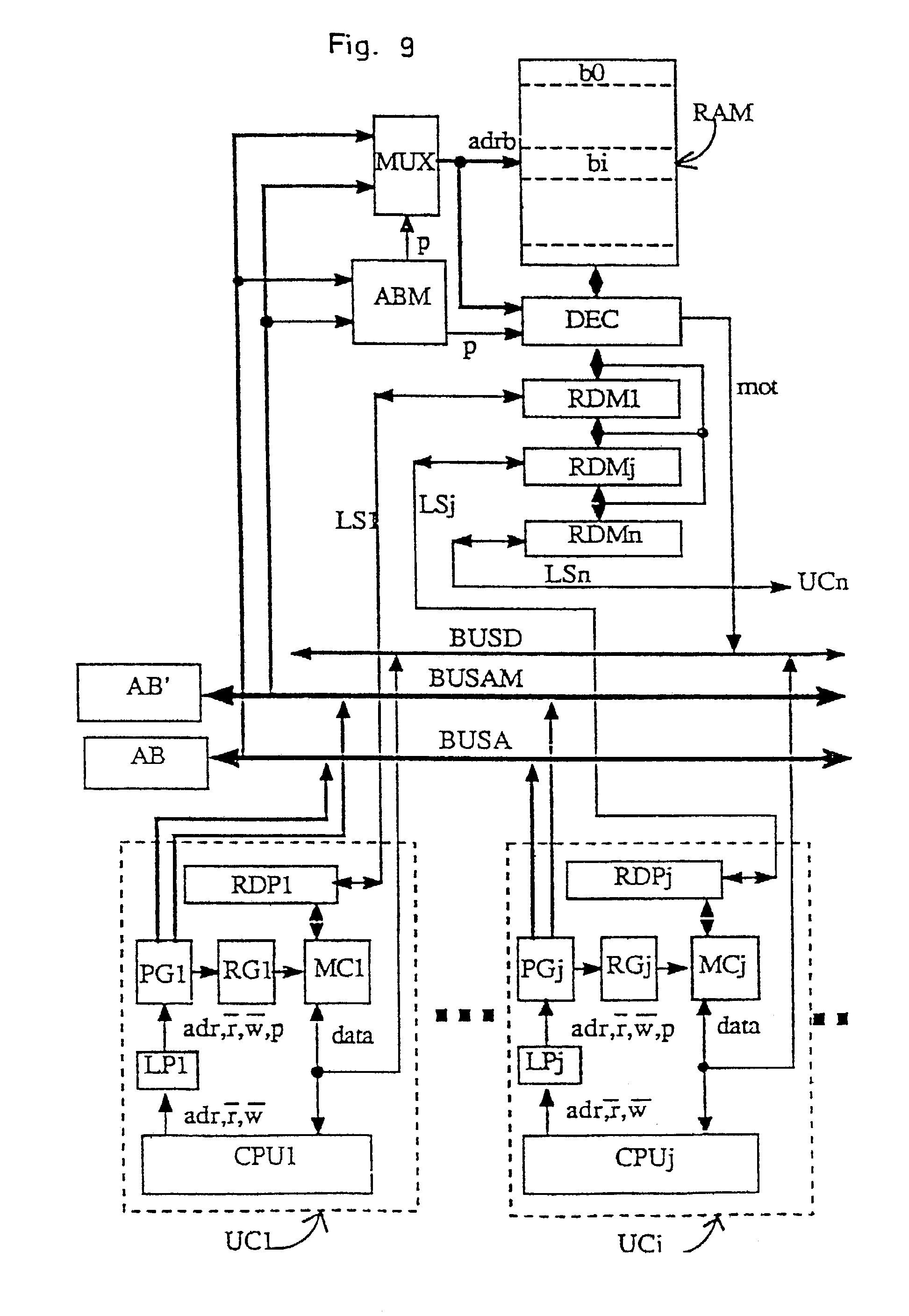 patent us7136971 - memory controller for synchronous burst transfers