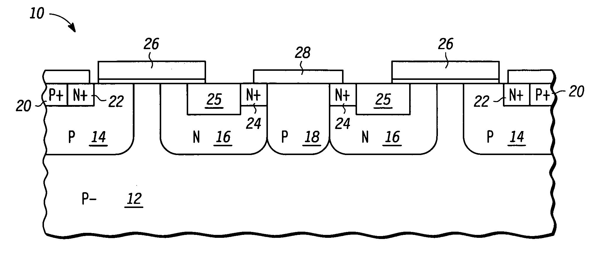 Patent US7141860 - LDMOS transistor - Google Patents