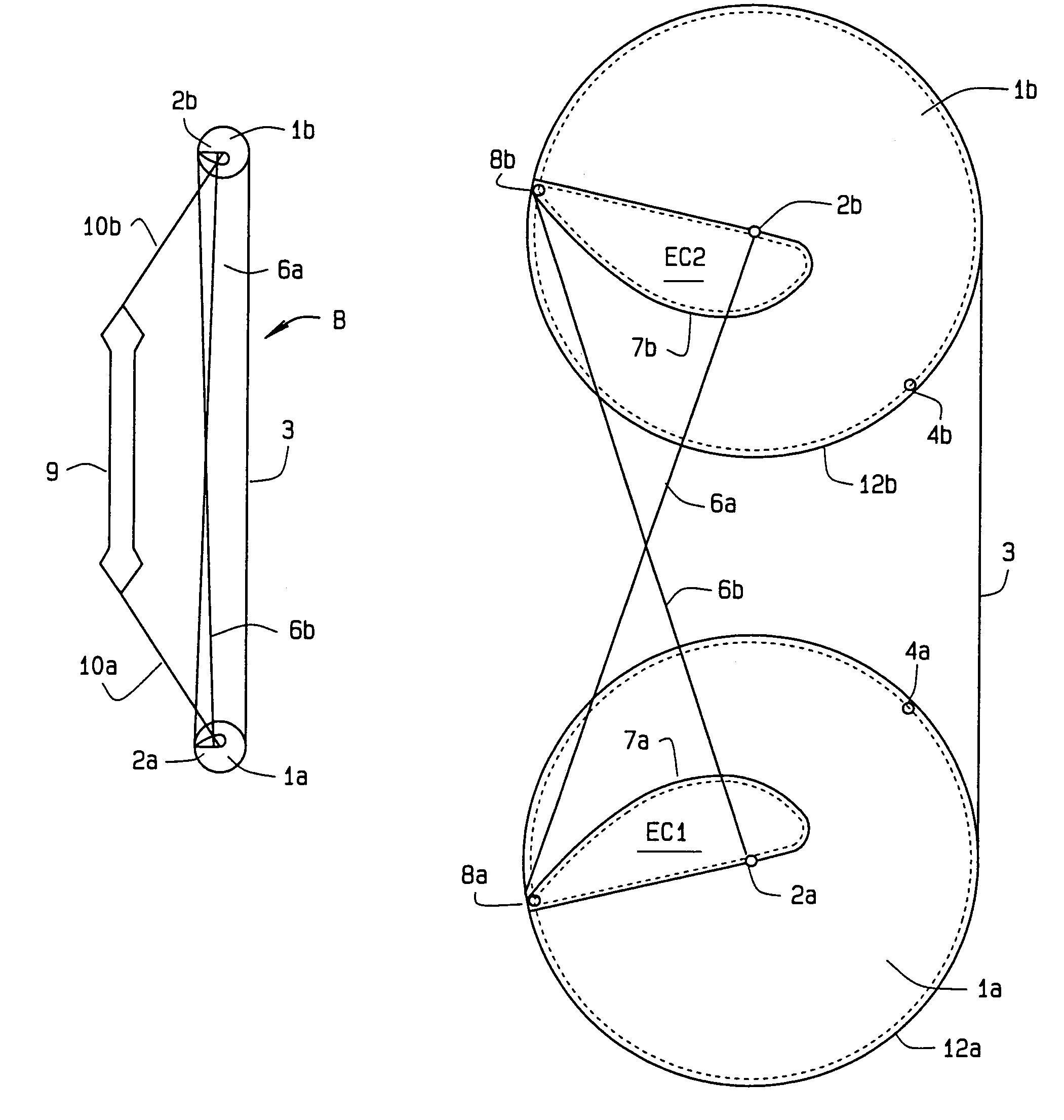 Patent US7143757 - Compound bow with cam arrangement - Google Patents