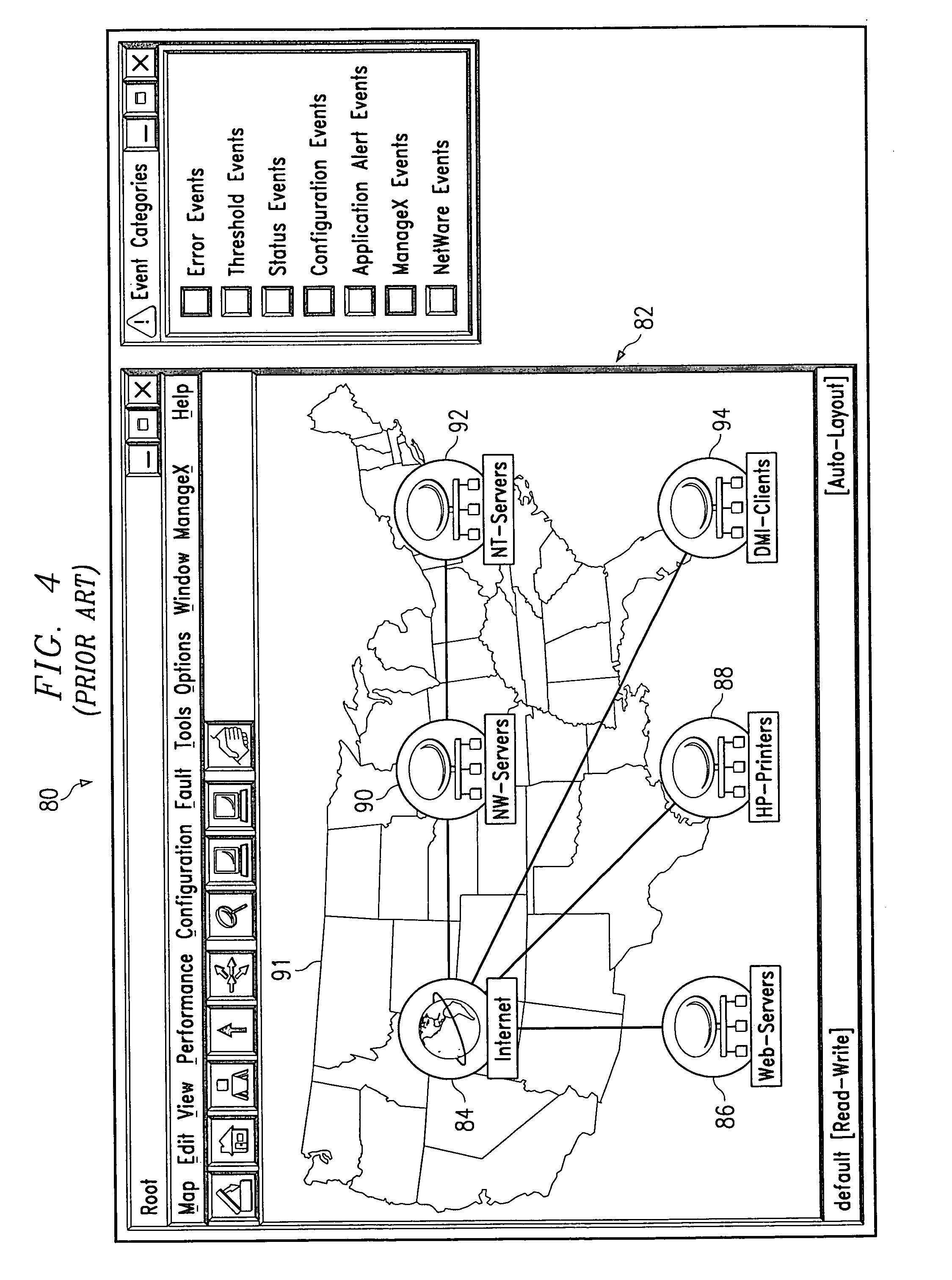 Patente US Dynamically Drillingdown Through A Health - Us internet health map