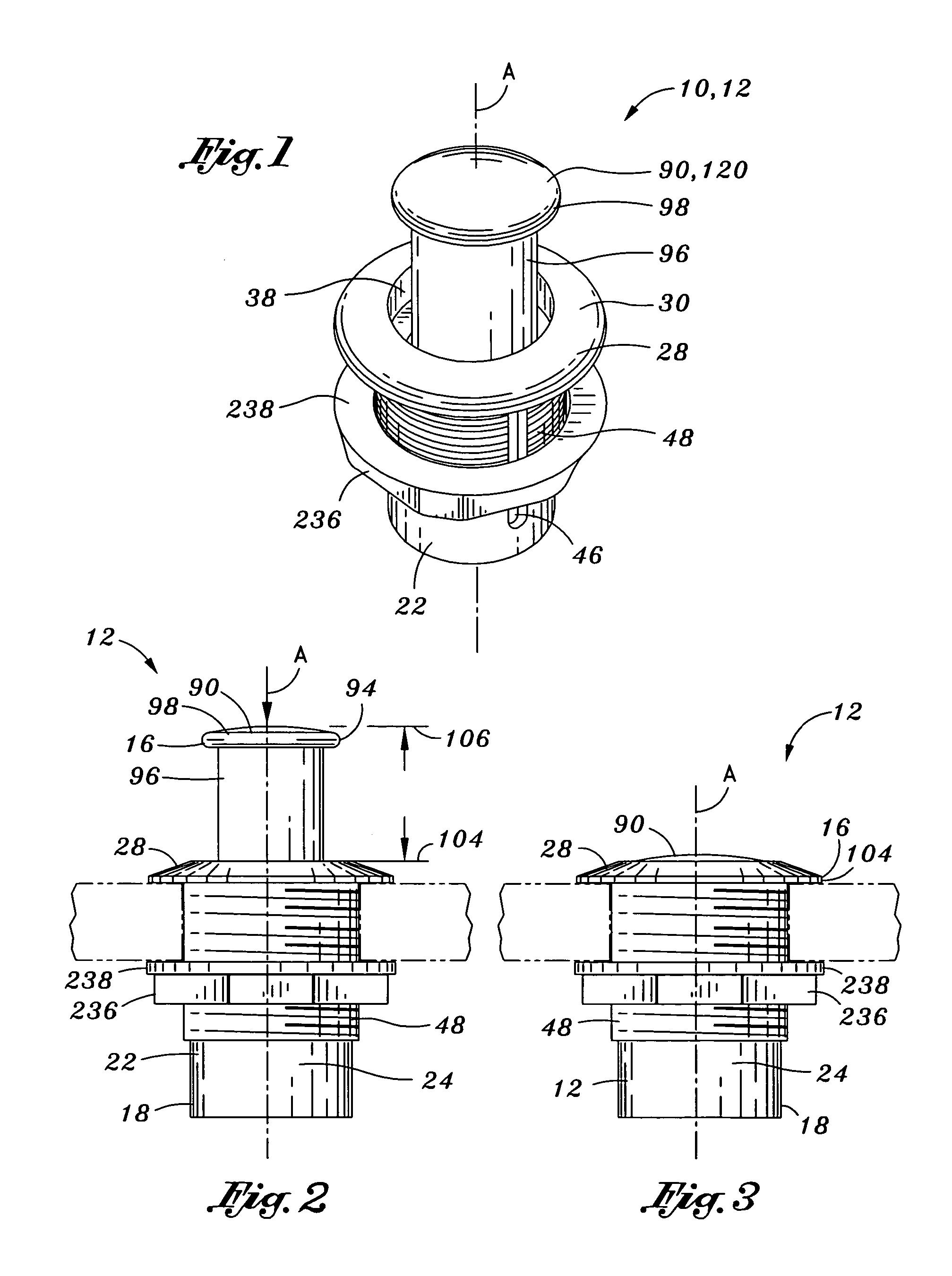patent us7152892 - push latch