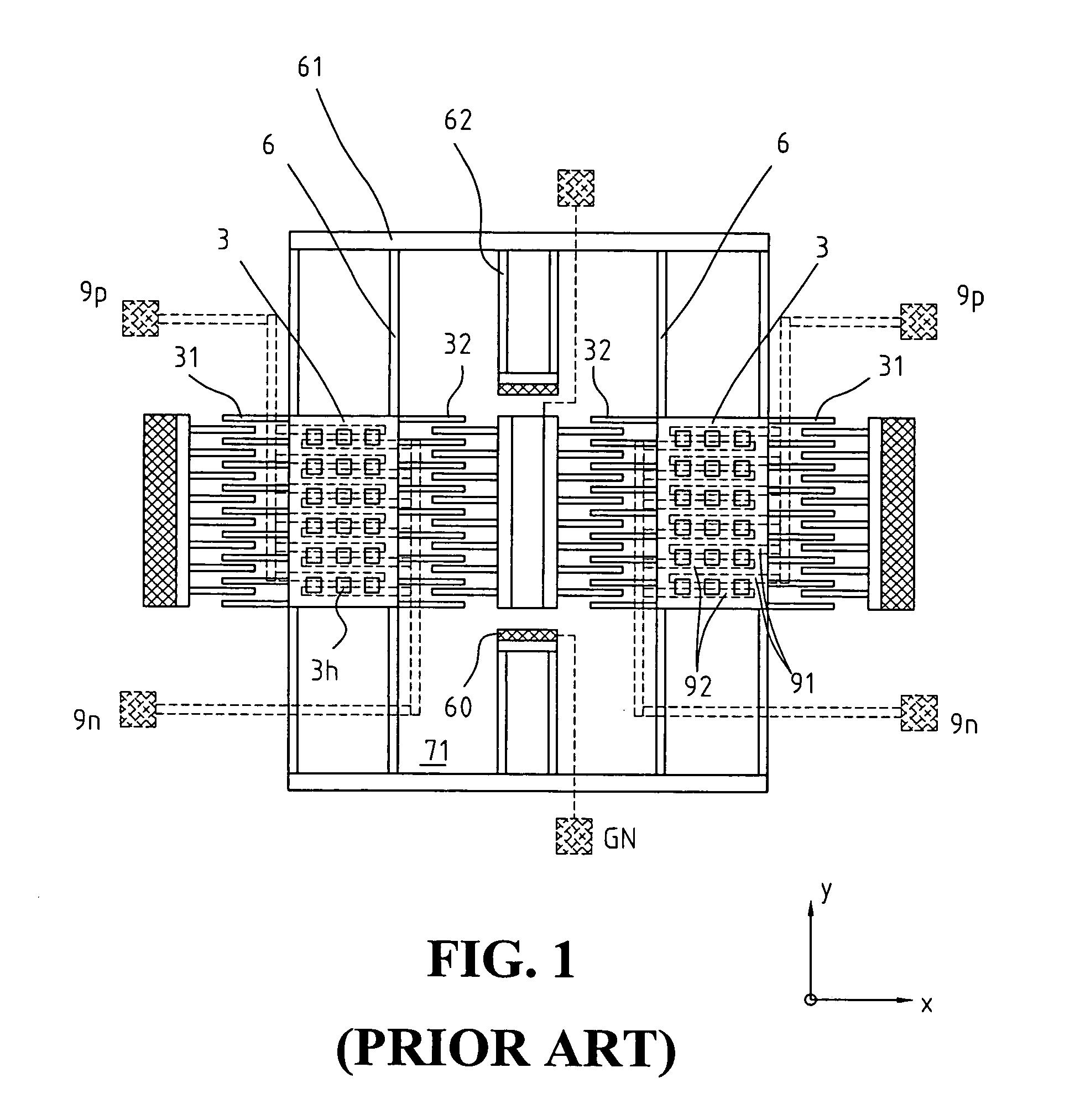 patent us7168317 - planar 3-axis inertial measurement unit