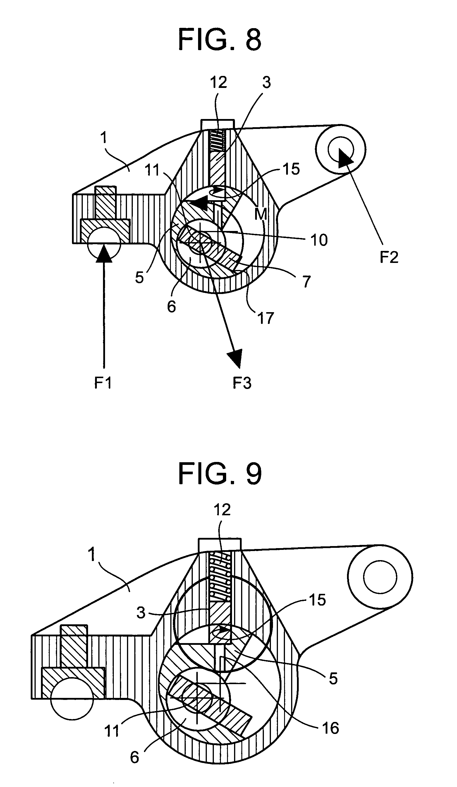 Combustion Engine Lever : Patent us rocker arm for valve actuation in