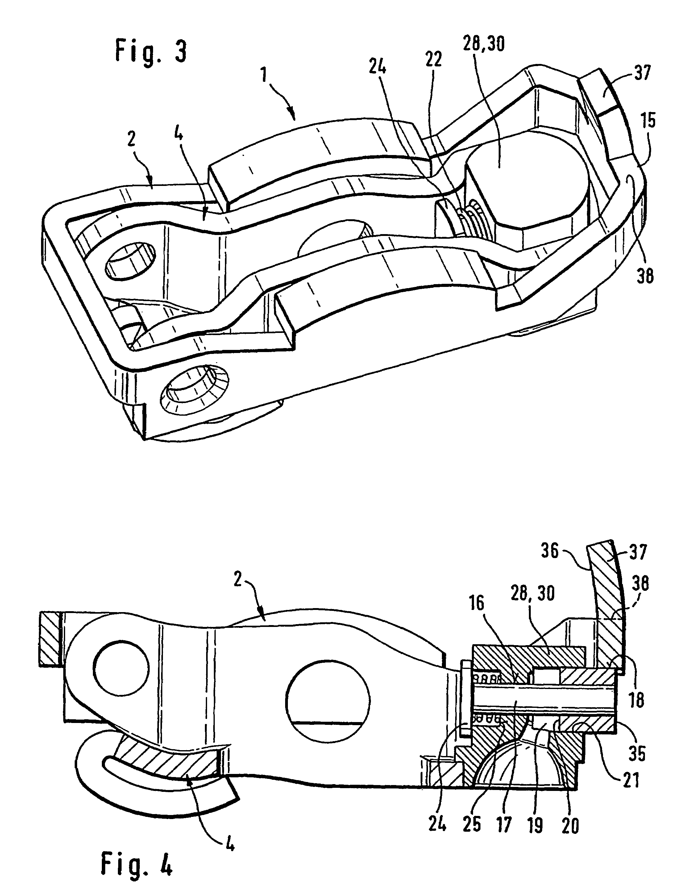 Combustion Engine Lever : Patent us switchable finger lever of a valve