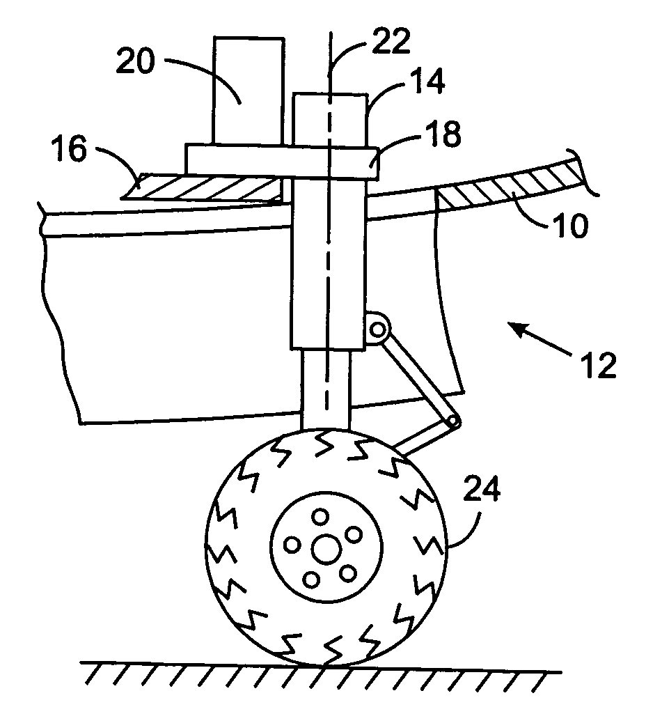 patent us7175134 hydraulic d er for shimmy of aircraft landing Airplane Piper Cub Schematics patent drawing