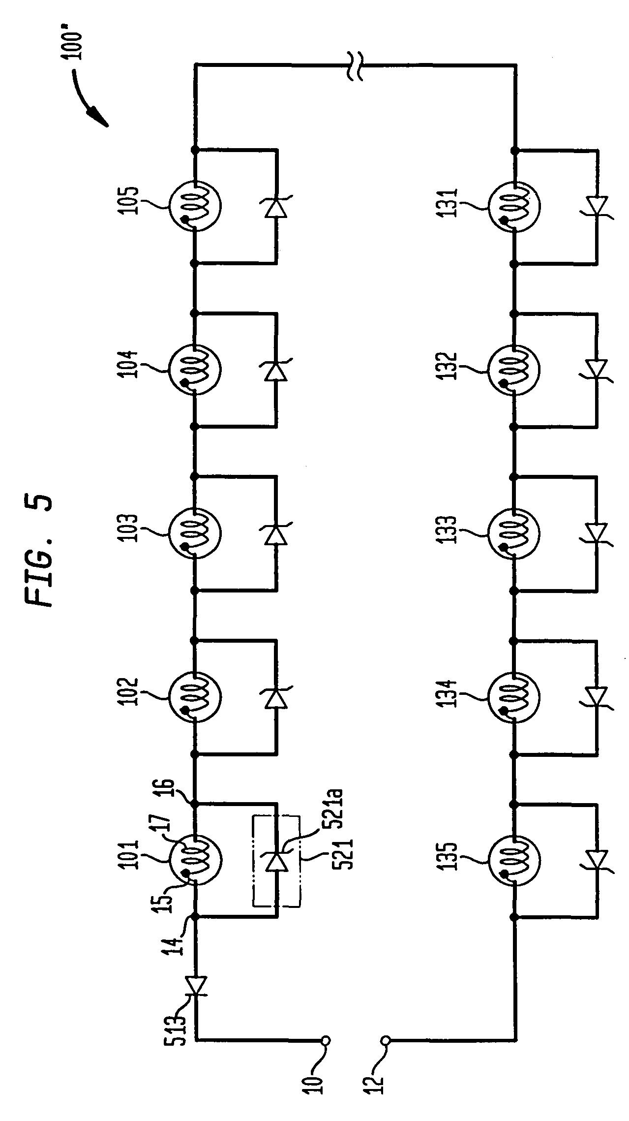 Patent US7178961 - Voltage regulated light string - Google Patents