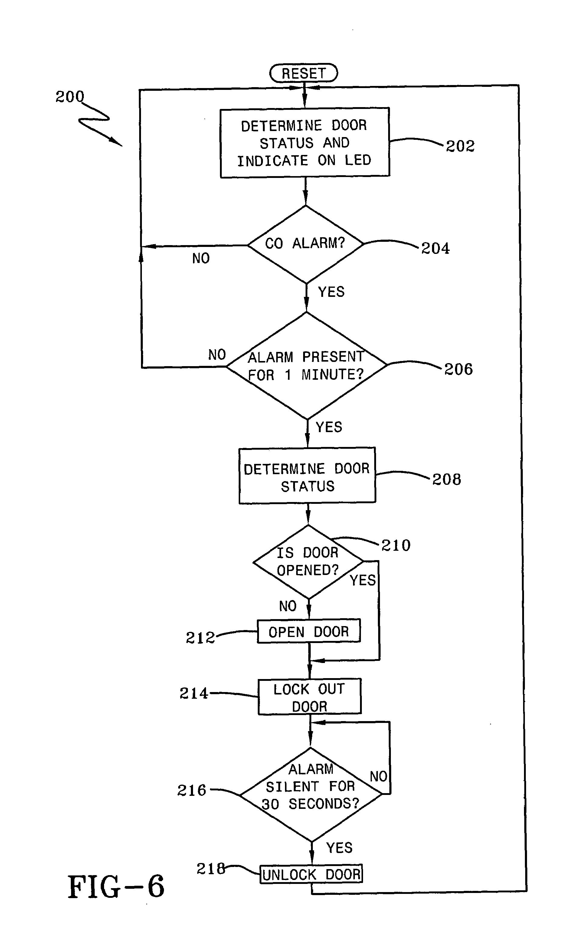 Patent Us7183933 Garage Carbon Monoxide Detector With