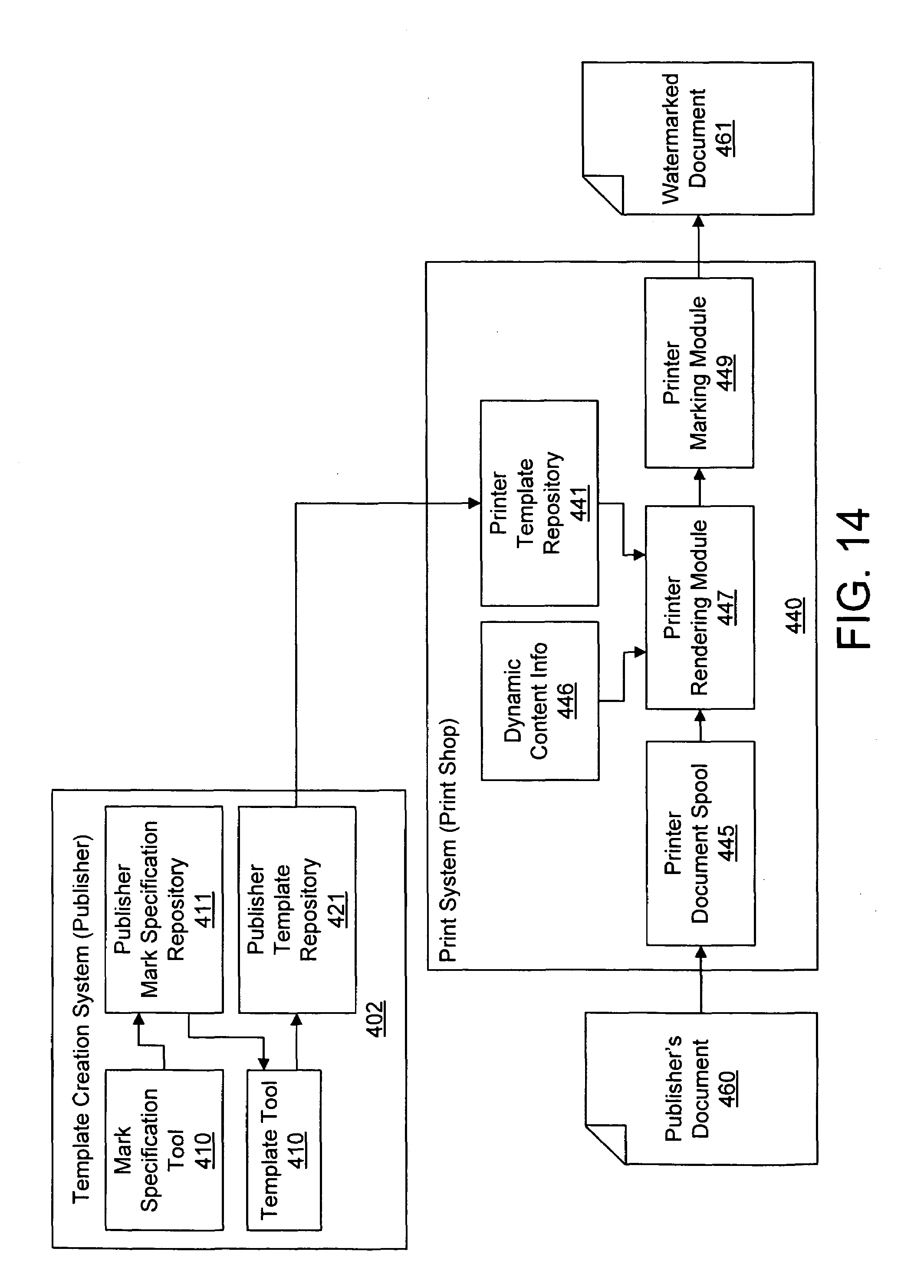 patent specification template - patent us7184571 multi stage watermarking process and