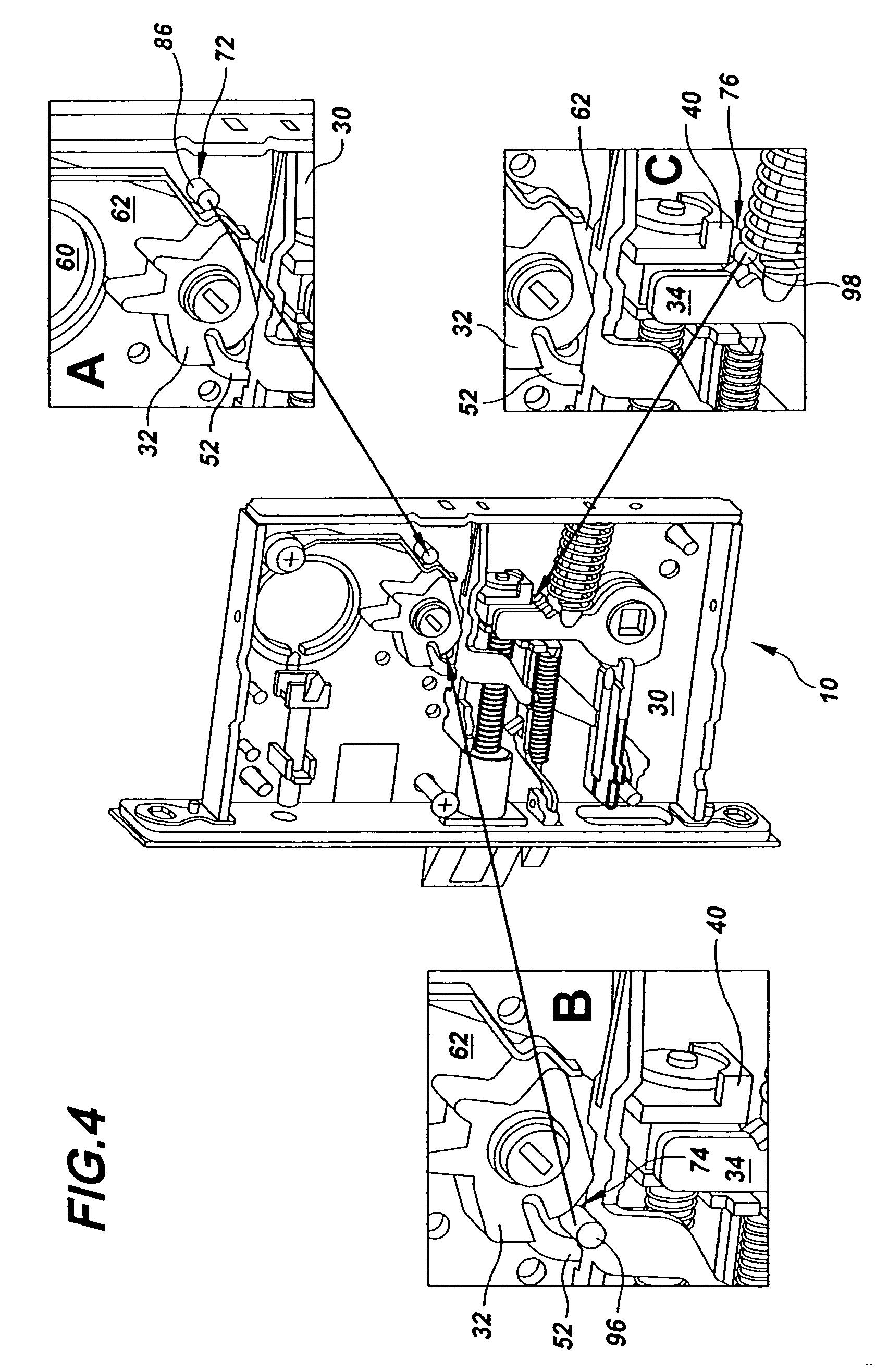 Patent Us7188870 Multi Functional Mortise Lock Google