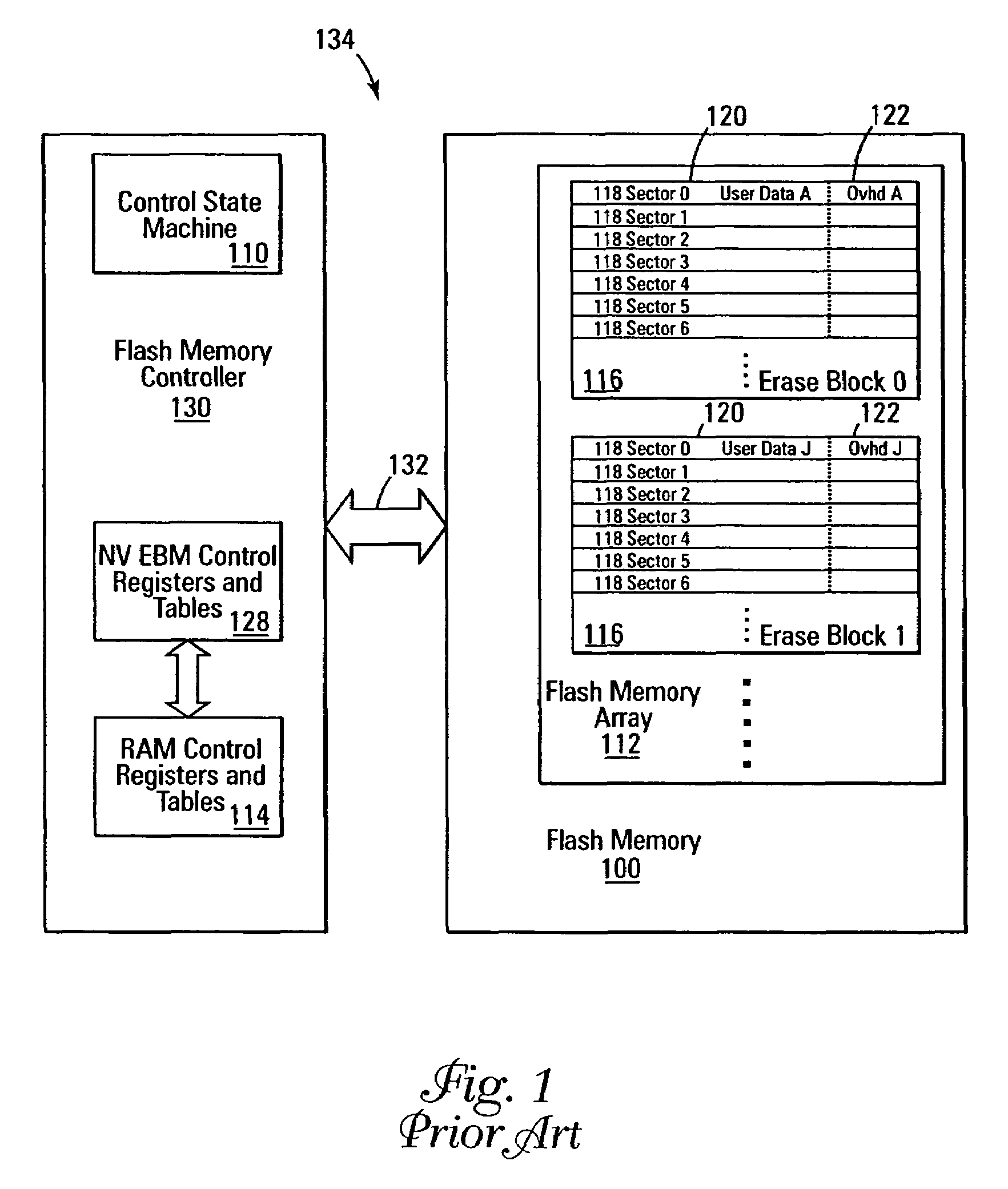Patent Us7193899 Erase Block Data Splitting Google Patents How To Draw A State Machine Diagram Drawing