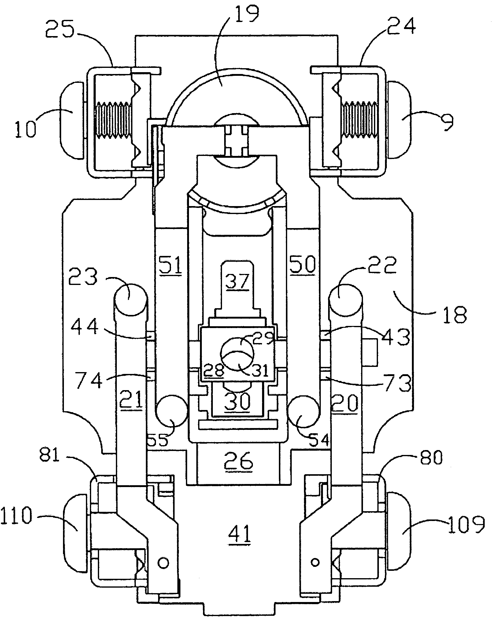 patent us7195500 - ground fault circuit interrupter with end of life indicators