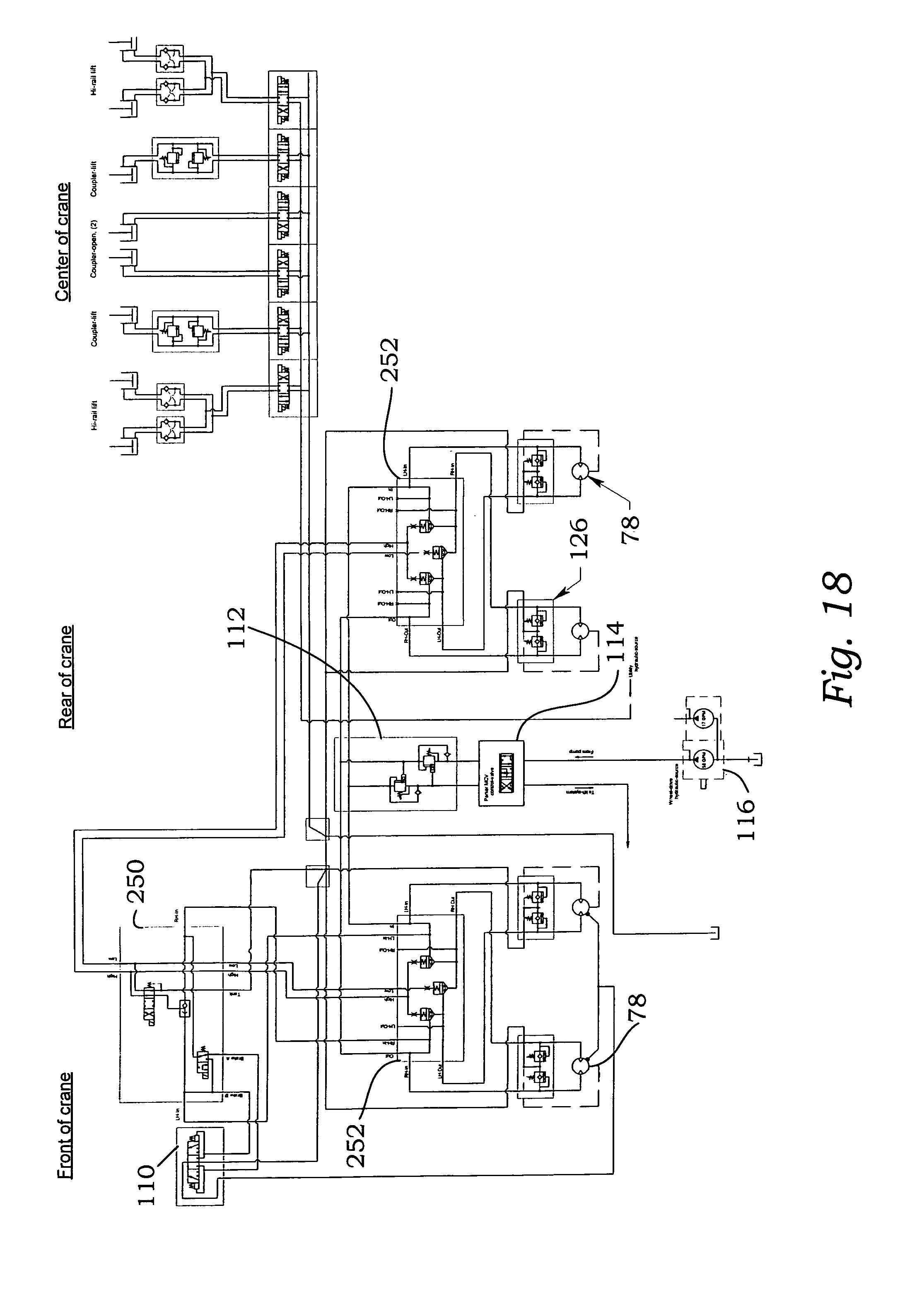 patent us7201106 - hydrostatic hi-rail system