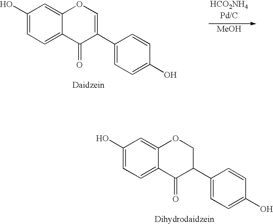 identification of isoflavone daidzein