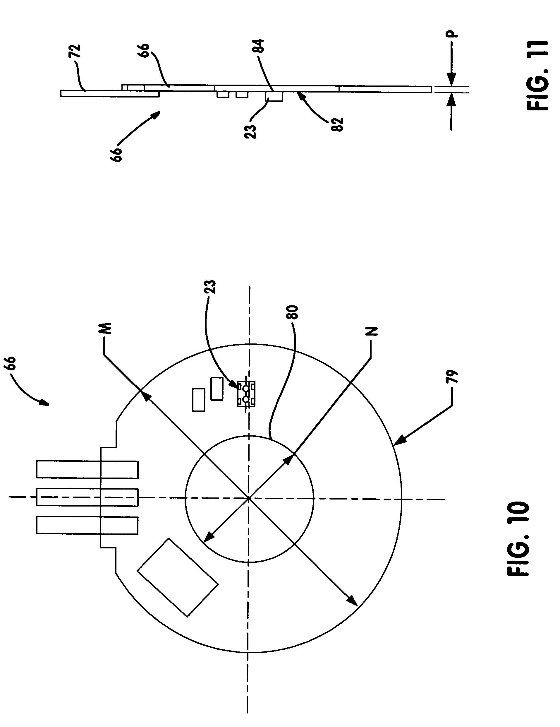 Transfer Case Encoder Motor Sensor Com