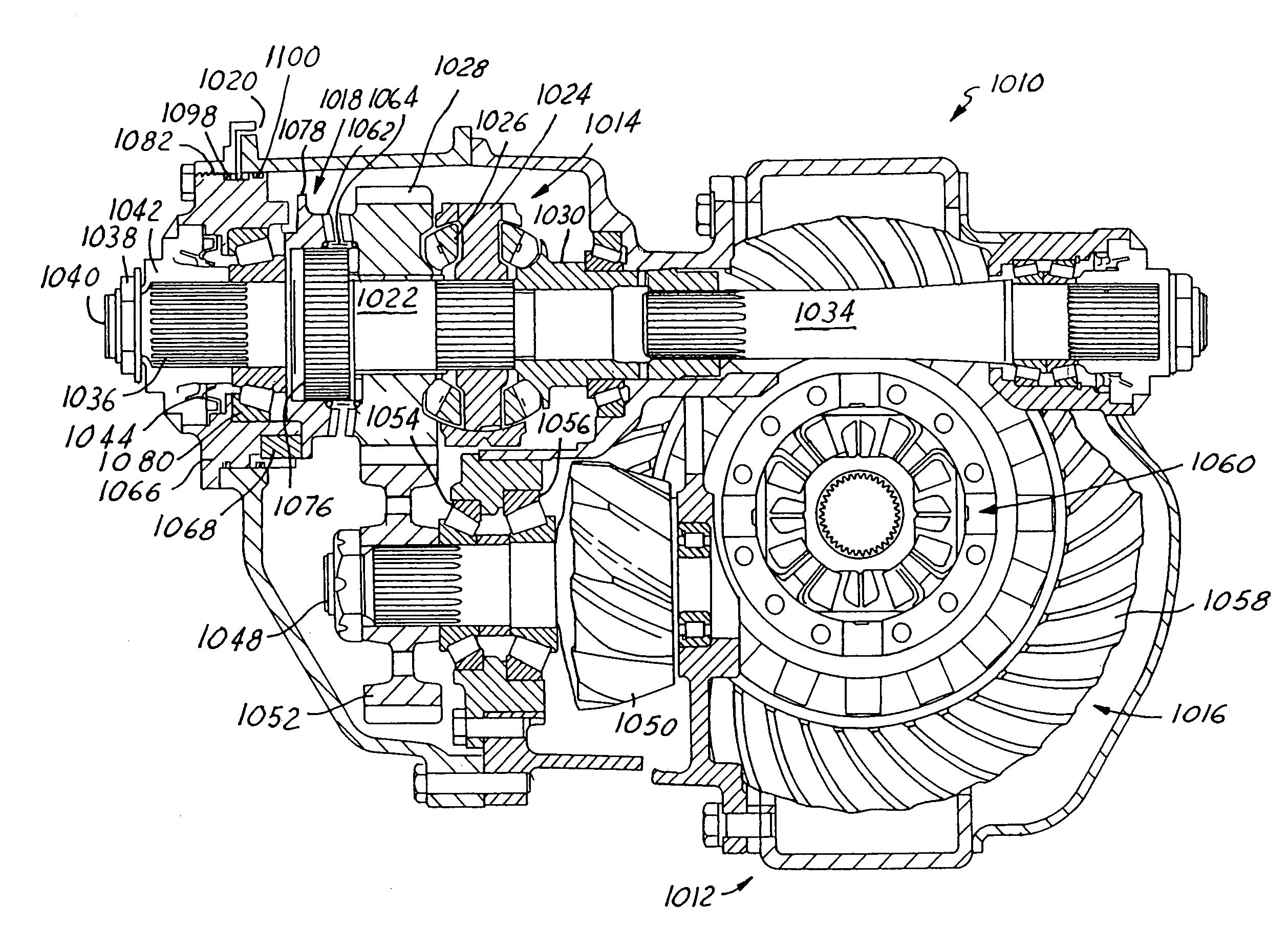 patent us7211017 - inter-axle differential lock shift mechanism