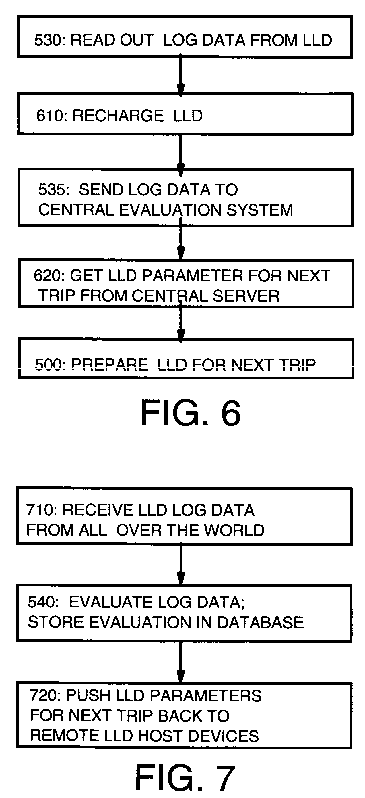 Patent US7216037 - Method and system for logistics quality