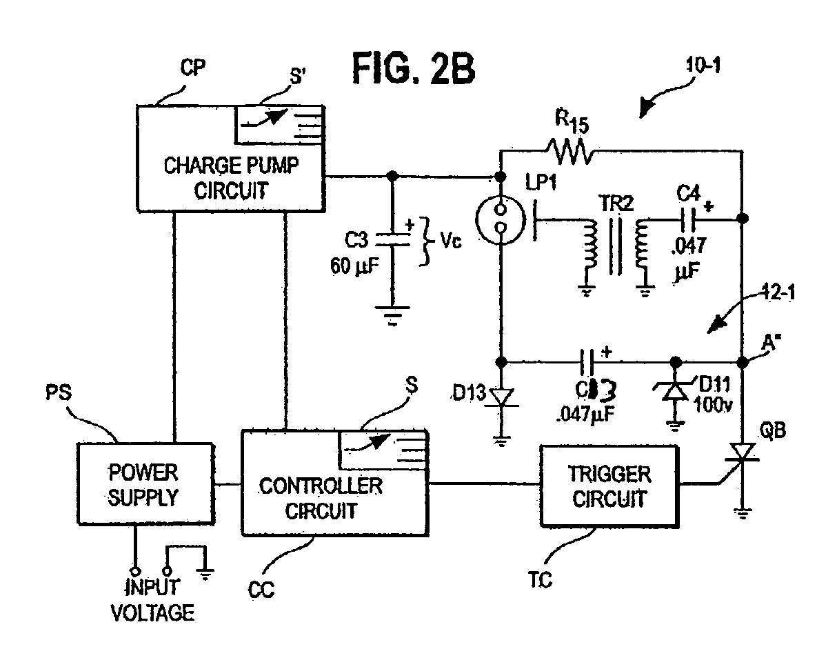 Polaroid Strobe Circuit Unlimited Access To Wiring Diagram Schematic Of The Light Patent Us7218205 Variable Candela With Constant Trigger Rh Google Com Pg Led