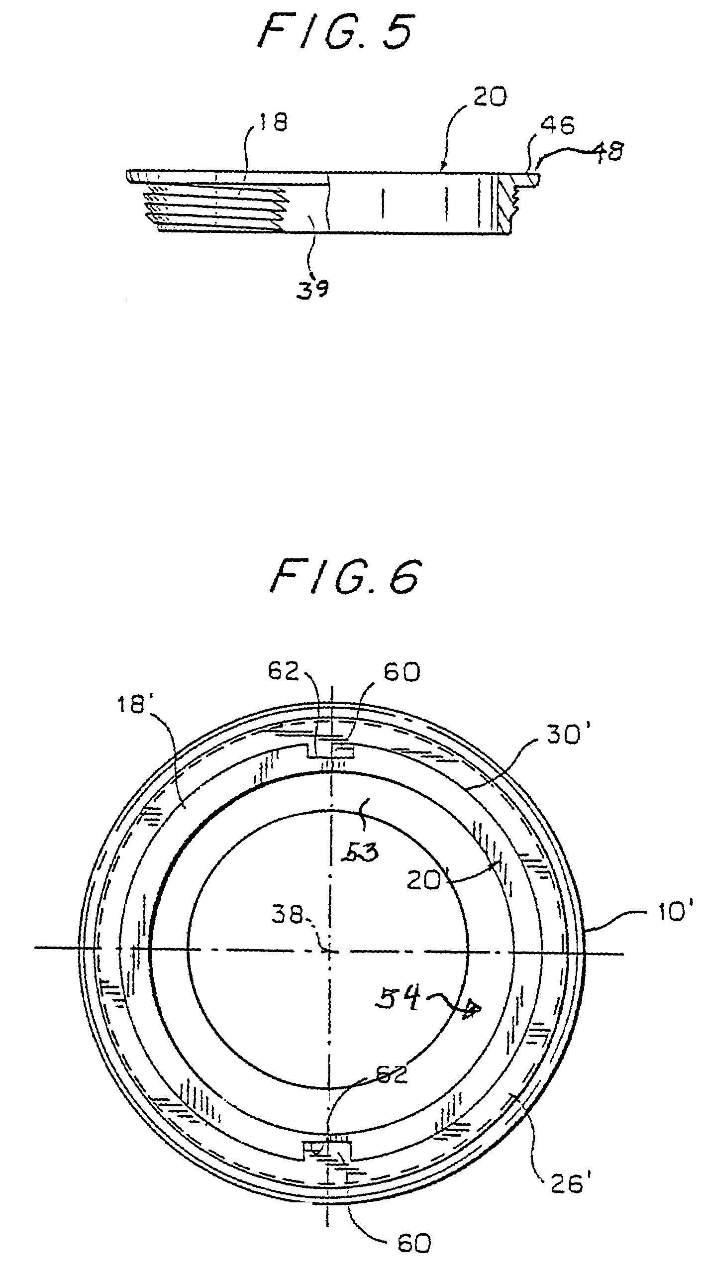 Patent us7232522 self locking bowl retainer for a filter can patent drawing hexwebz Choice Image