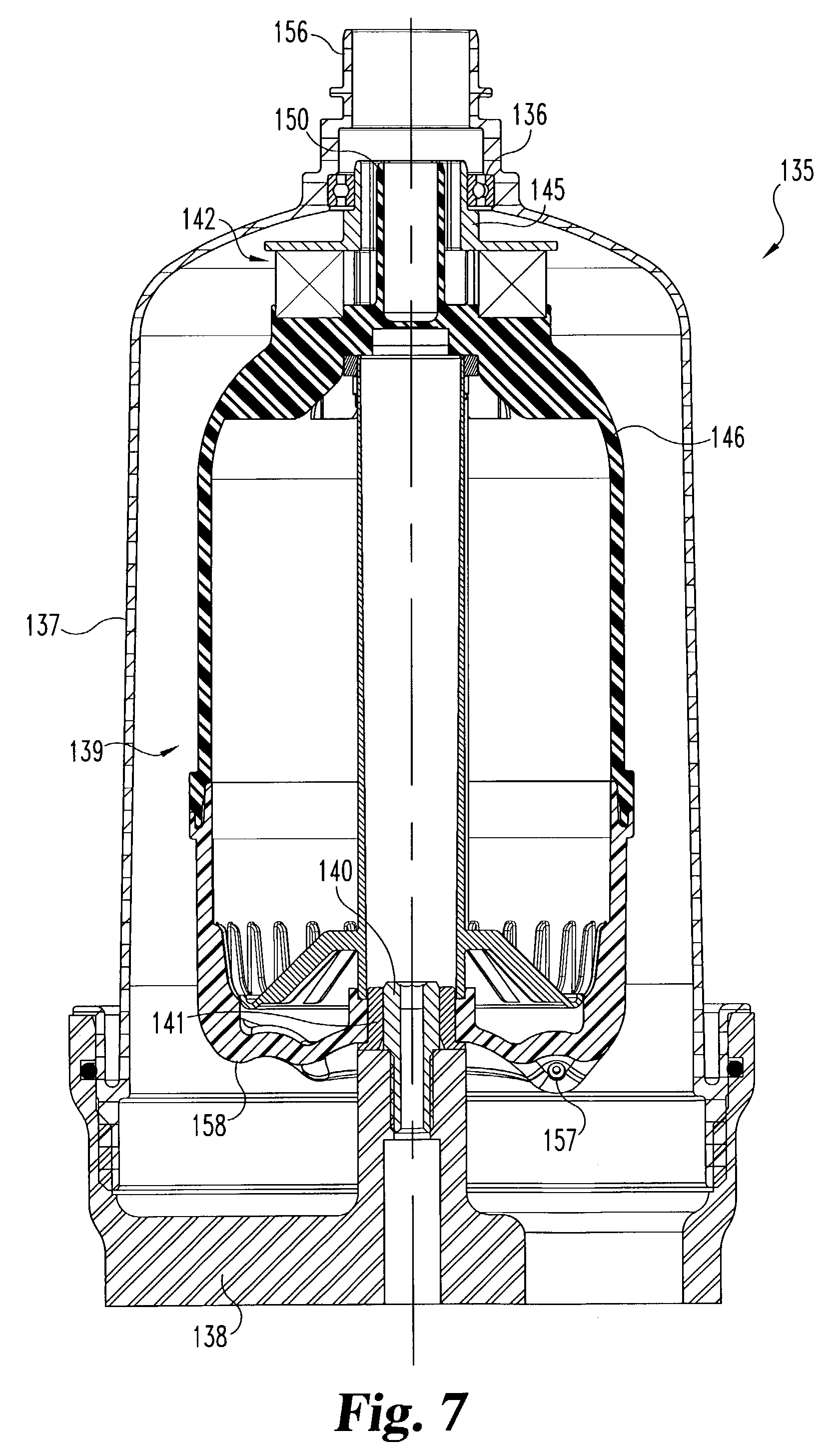 patent us7235177 - integral air  oil coalescer for a centrifuge