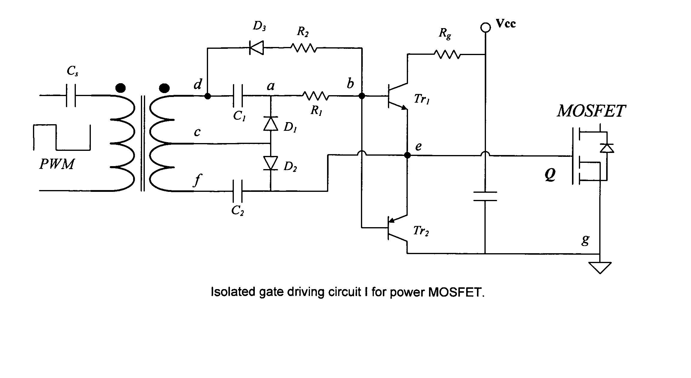 Mosfet Gate Drive Circuit Toshiba Great Installation Of Wiring Basics Patent Us7236041 Isolated Driver For Power Switching Rh Google Com Pg Rf