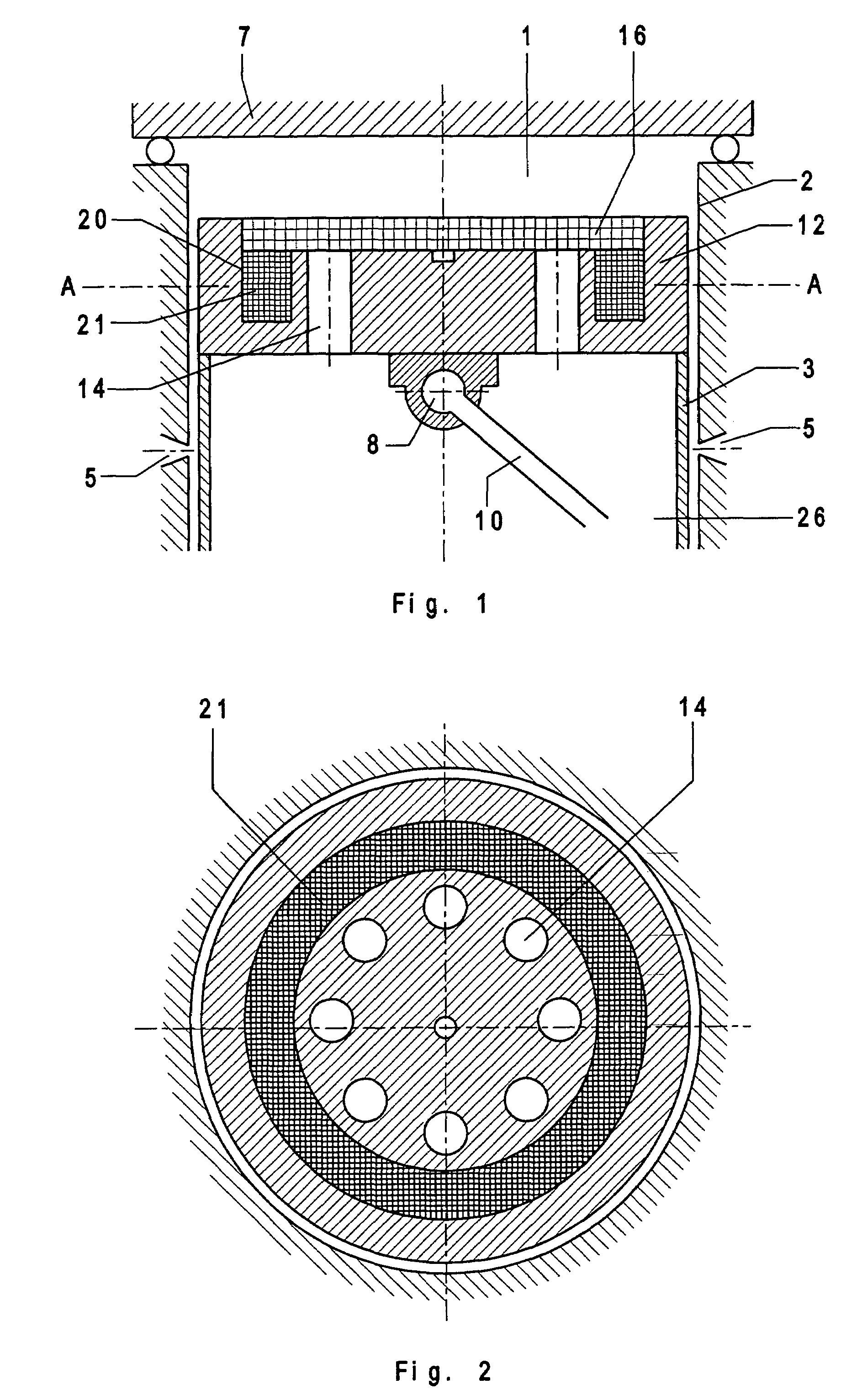 Patent US7241120 - Piston machine with ported piston head