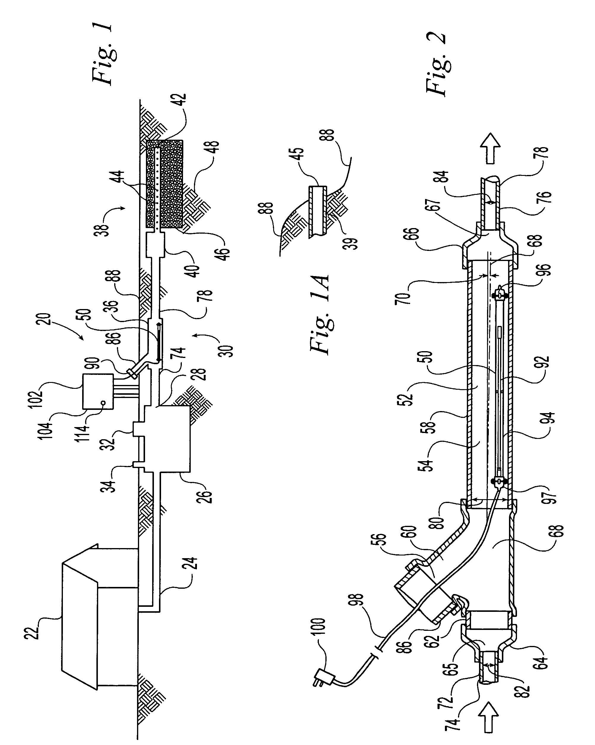 Patent Us7241380 Ultraviolet Treatment Unit And Septic