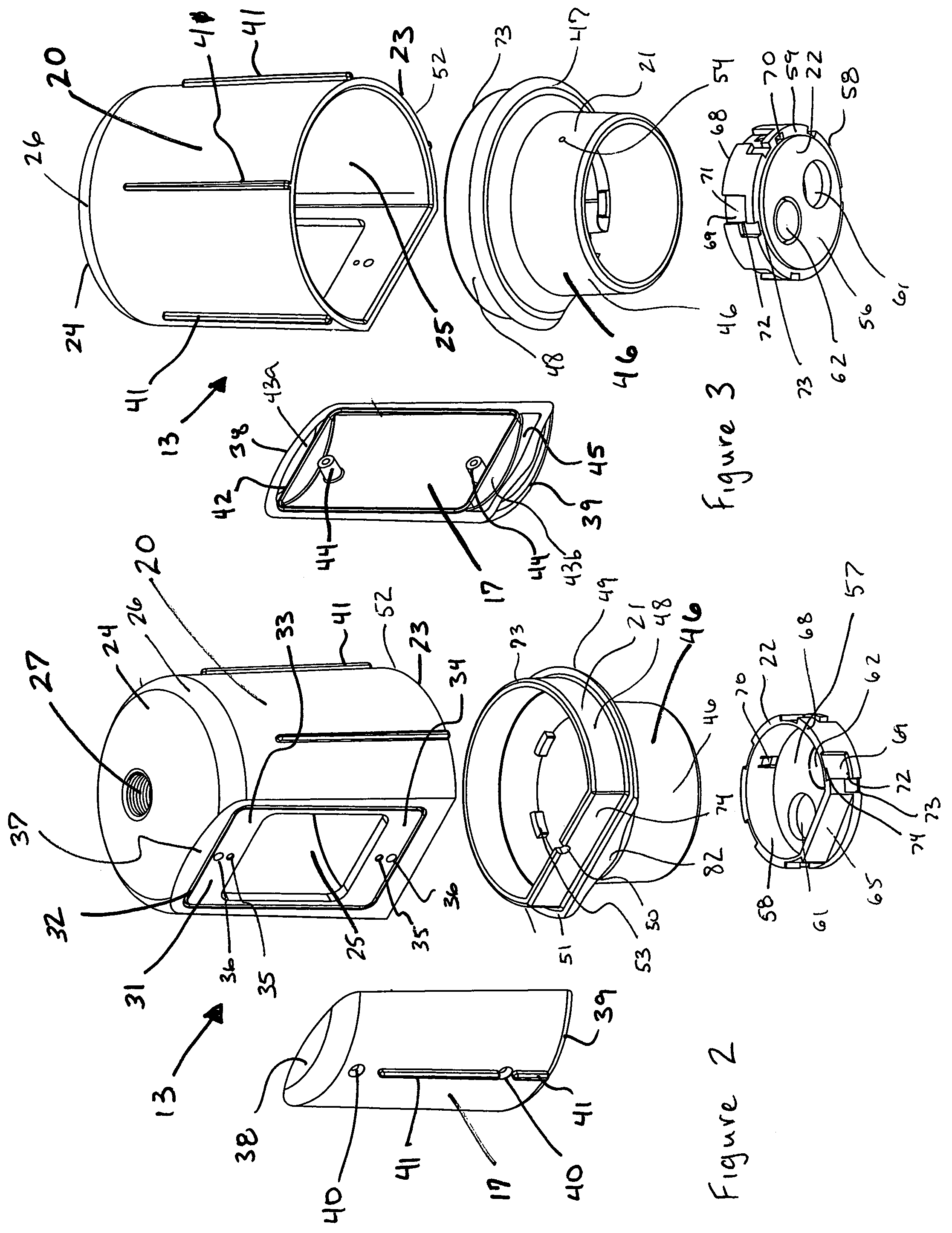 patent us7246929 - landscape lightpost with receptacle cavity