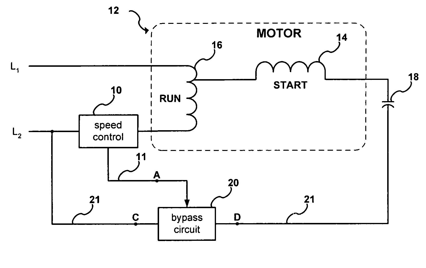 Variable Speed Motor Controller Circuit Triac Control Patent Us7248015