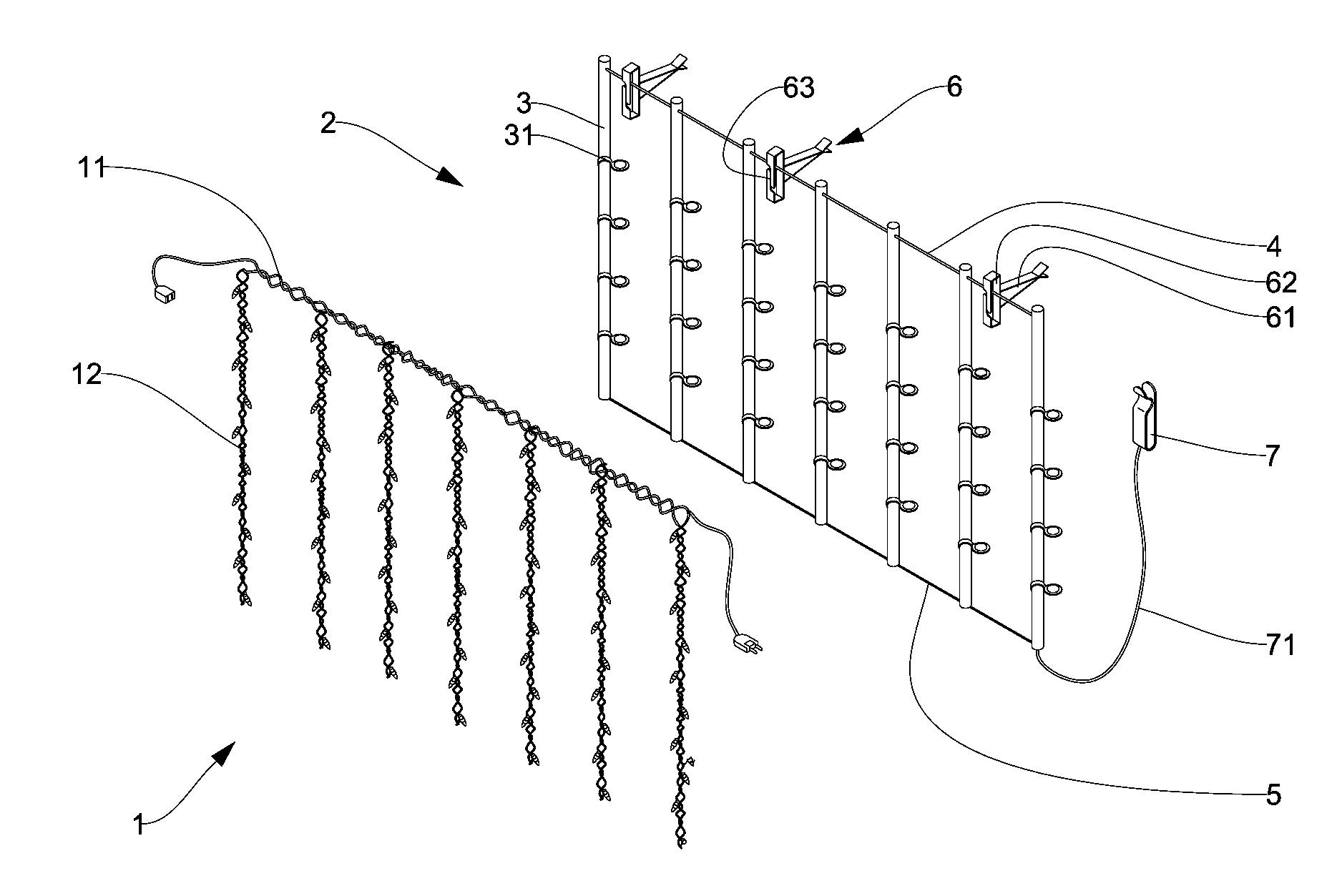 Sensational Icicle Light Wiring Diagram Wiring Diagram Panel Wiring 101 Garnawise Assnl