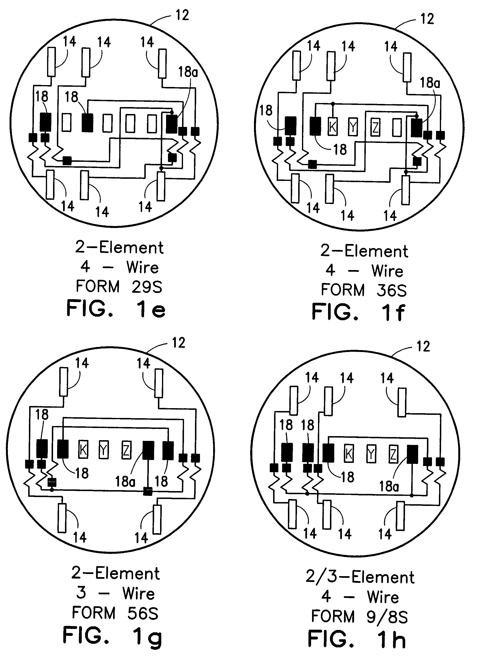 Patent Us7253605 Configurable Utility Meter Connection
