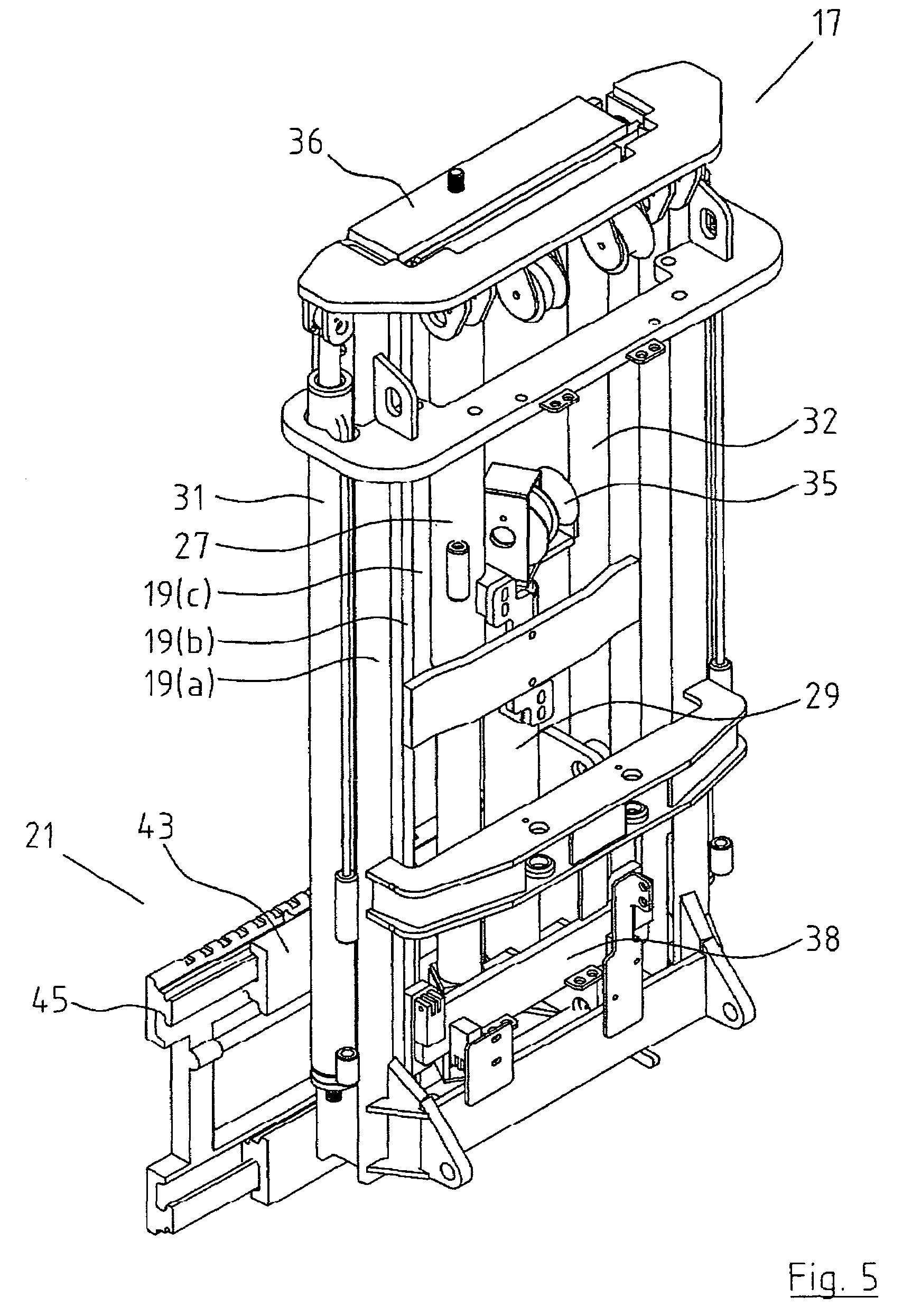 Patent Us7255202 - Truck Mounted Forklift With Double-acting Freelift Mast