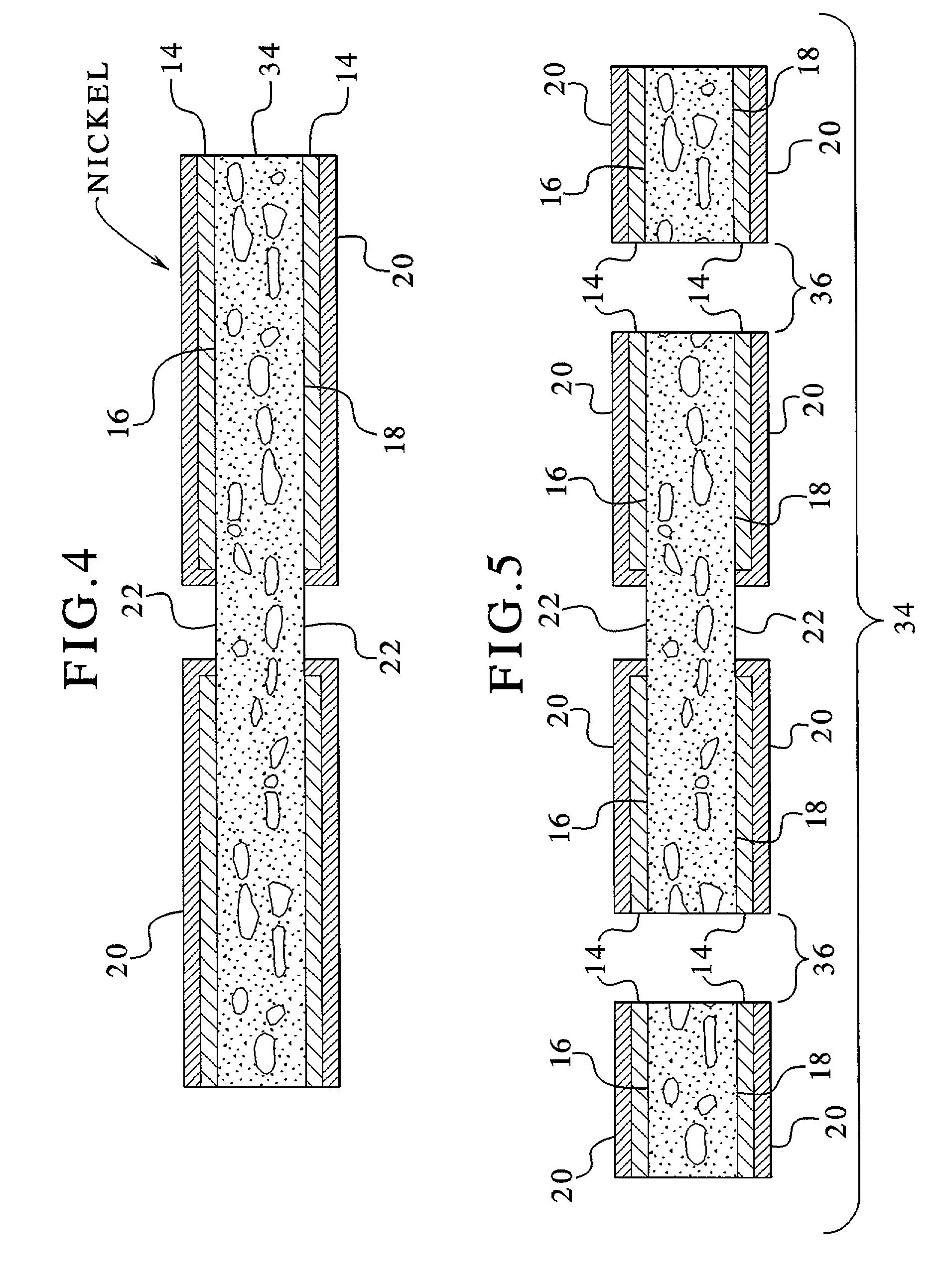 patent us7258819 - voltage variable substrate material