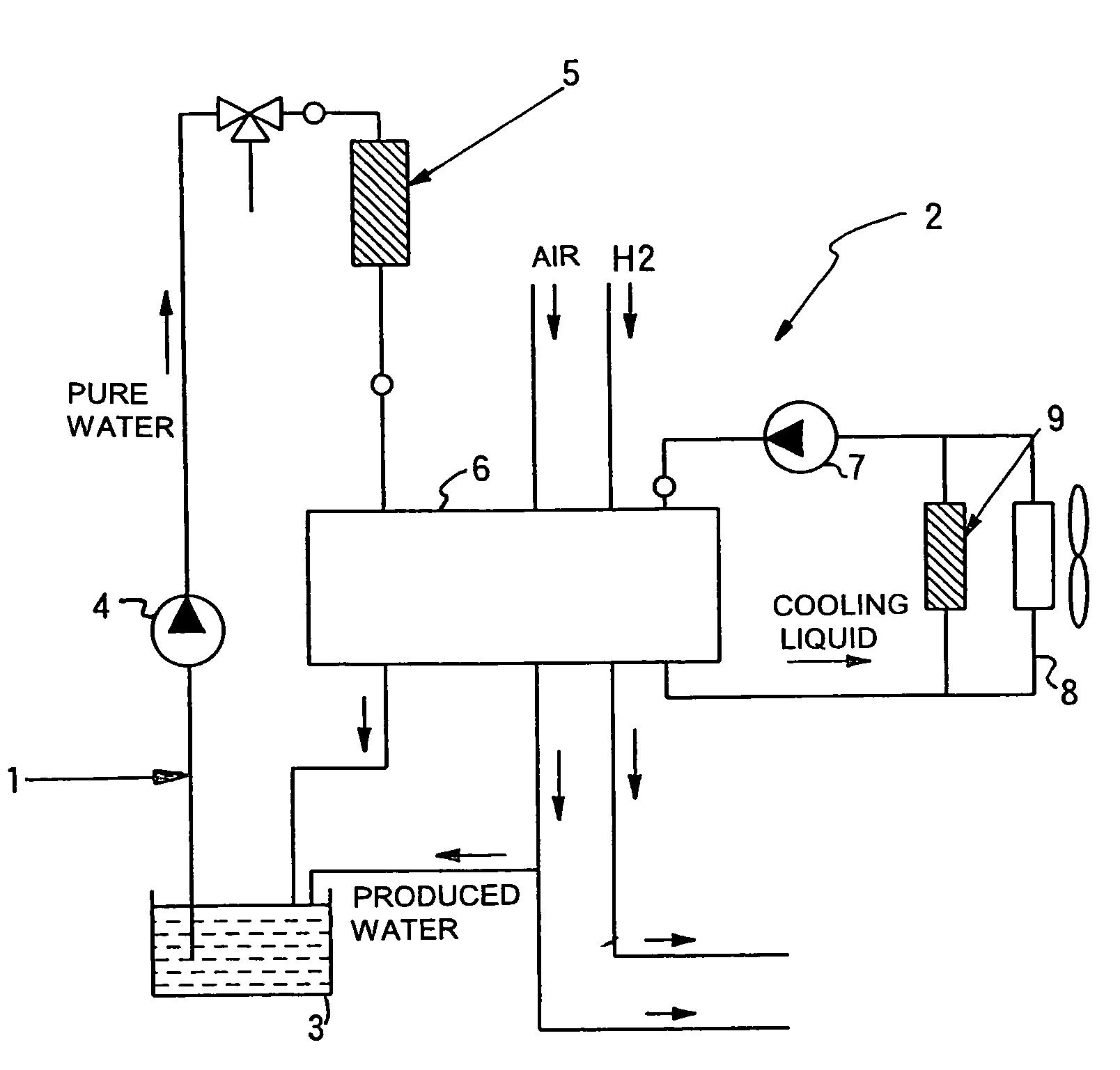 patent us7261816 - ion-exchange filter