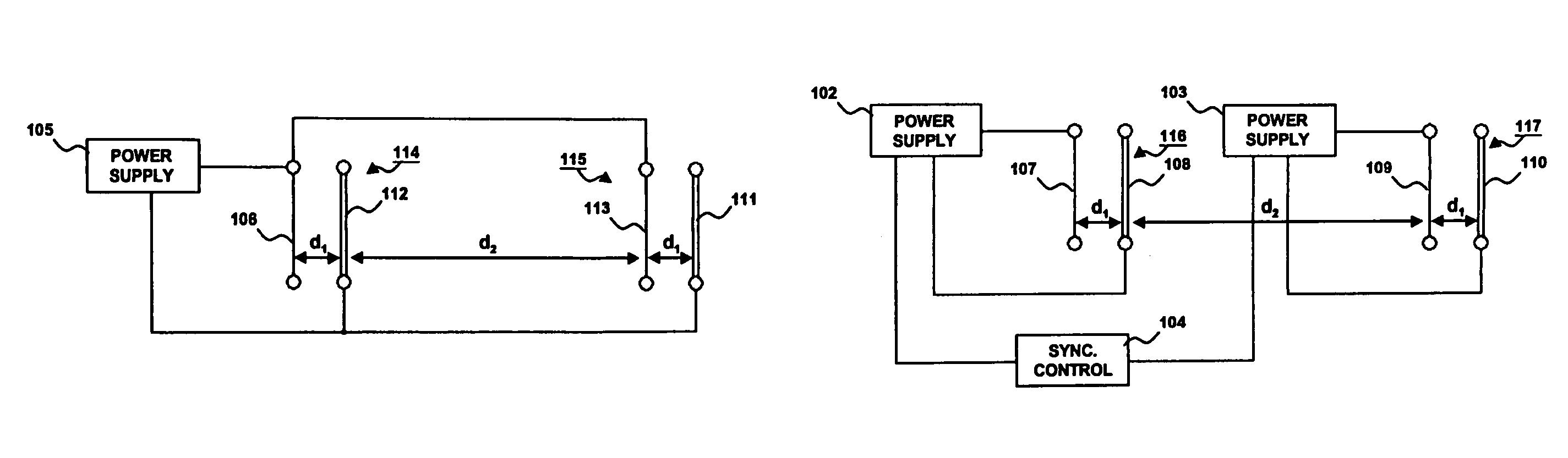 Electrostatic Fluid Accelerator : Patent us electrostatic fluid accelerator for and