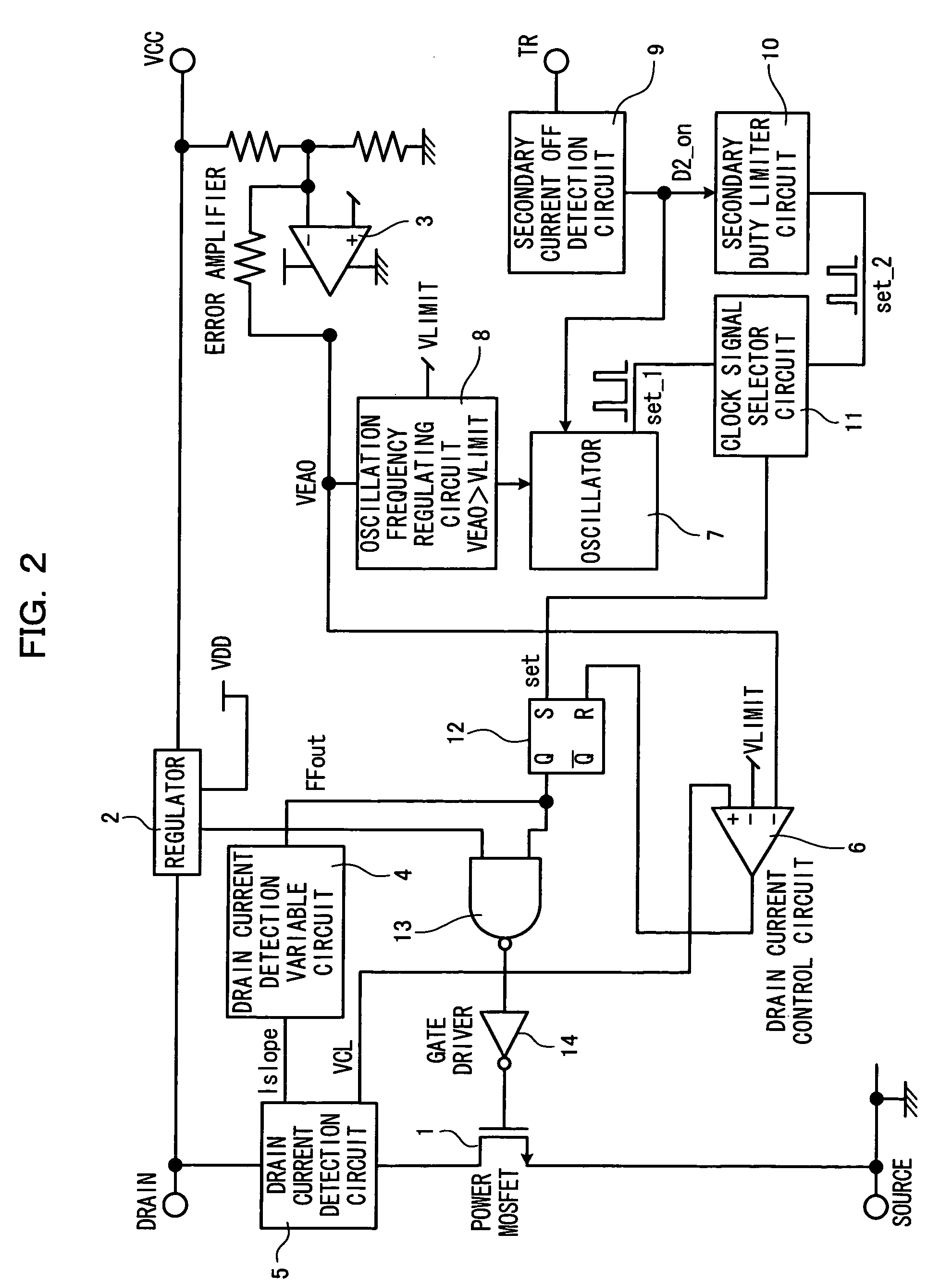 Patent Us7265999 Power Supply Regulator Circuit And Semiconductor The Time Delay With A Fet Controlcircuit Diagram Drawing